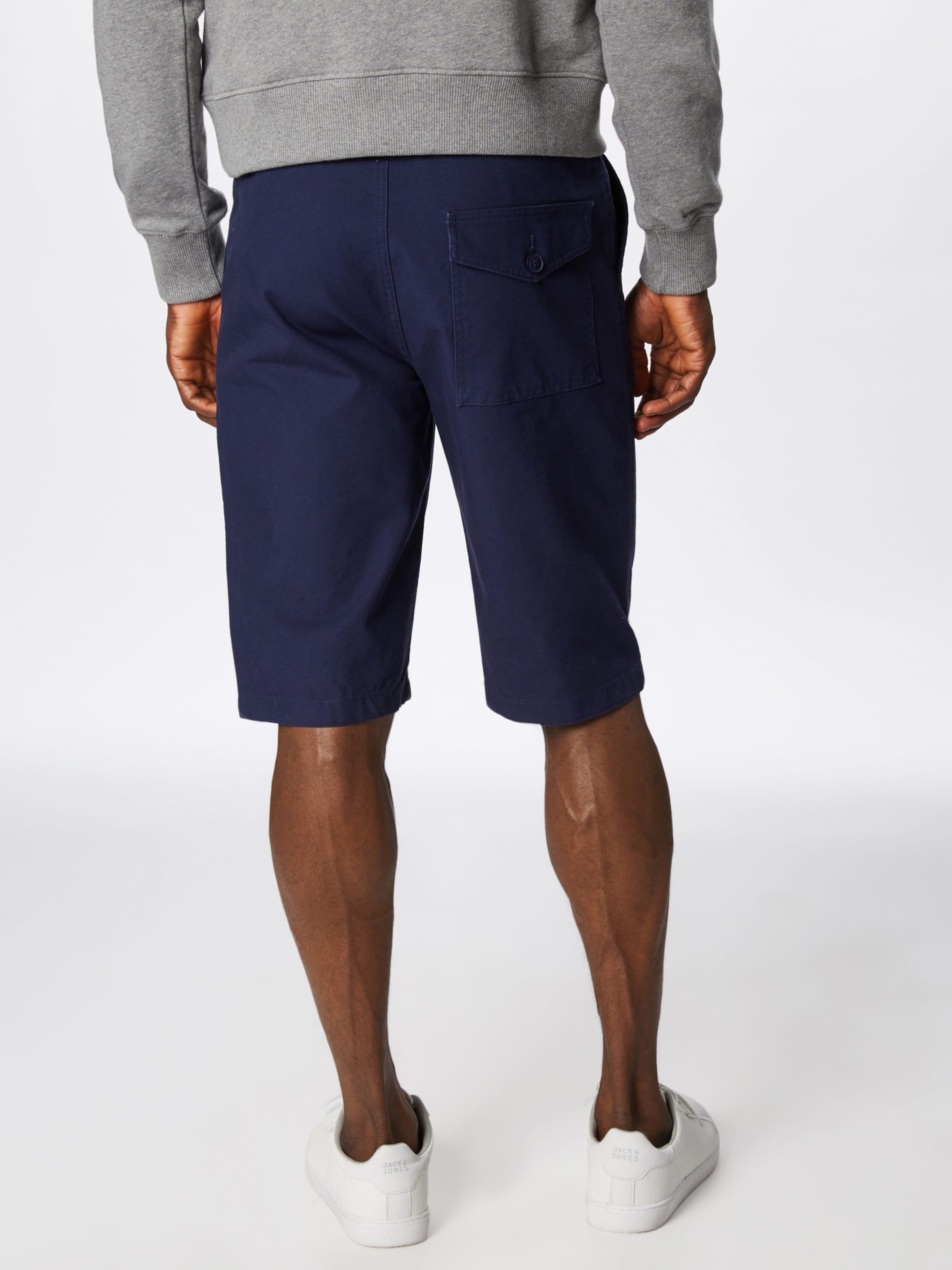 En Armor À Lux Pince Pantalon Bleu Marine 'bermuda' CWxerBod