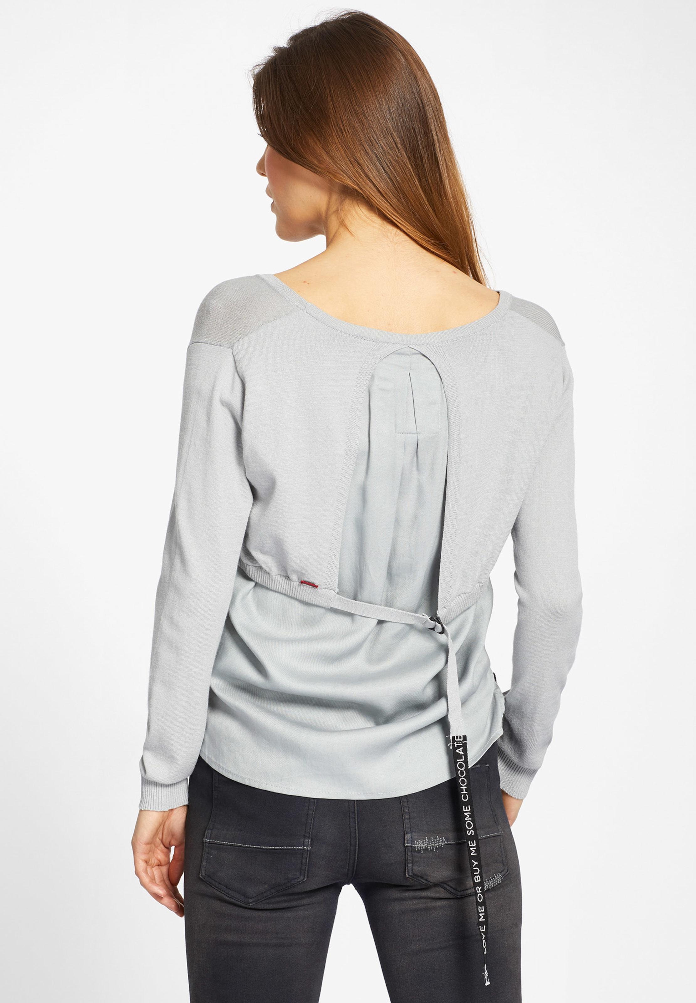 'bathia' Grau Khujo Khujo Pullover 'bathia' In Pullover Grau In Khujo 'bathia' Pullover D9EHWI2Y