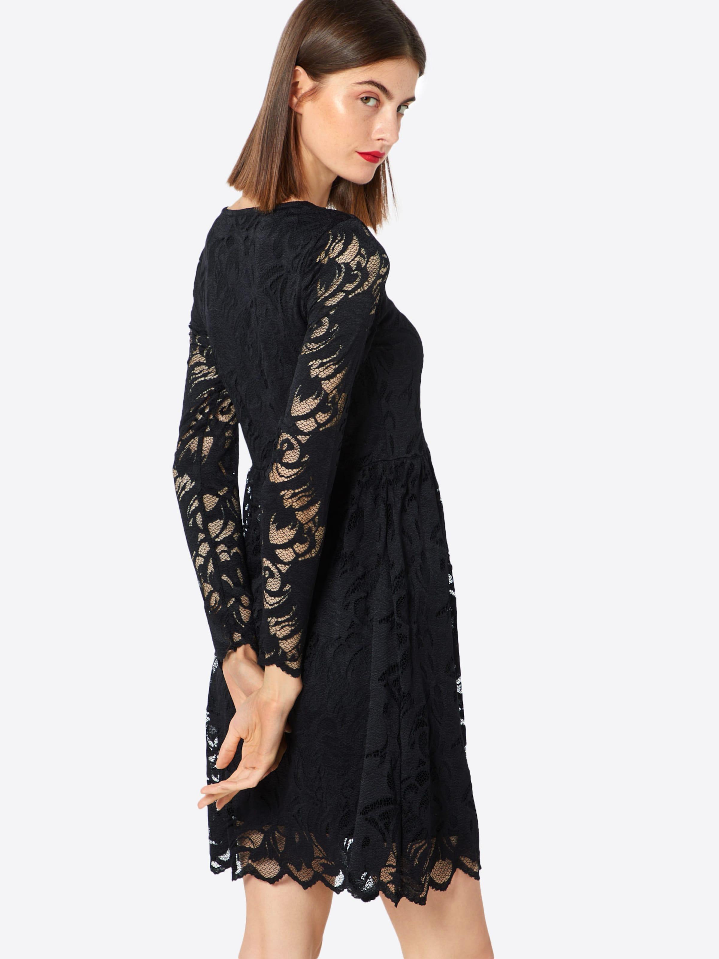 Lace' Robe Noir Cocktail 'stasia Vila En De pUMGVLqSz
