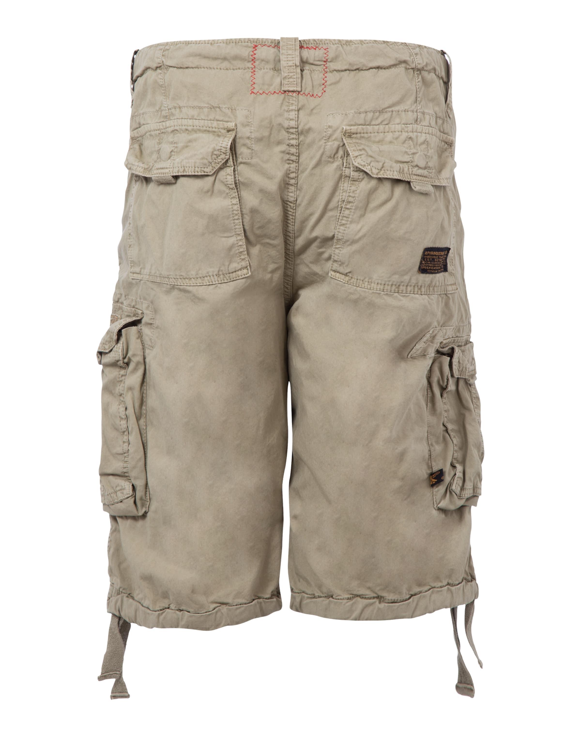 Pantalon En Beige 'jet' Industries Cargo Alpha FJlTcK1