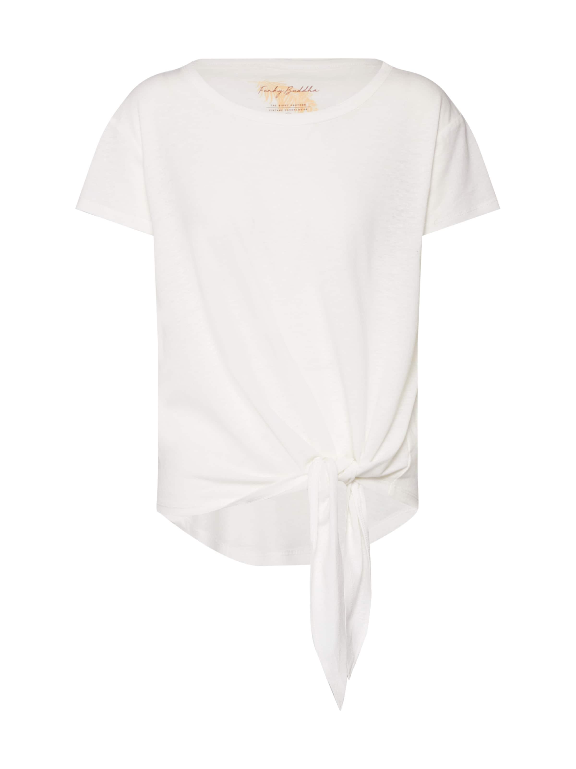 shirt Cassé Funky Blanc Buddha T En bgyYvI76f