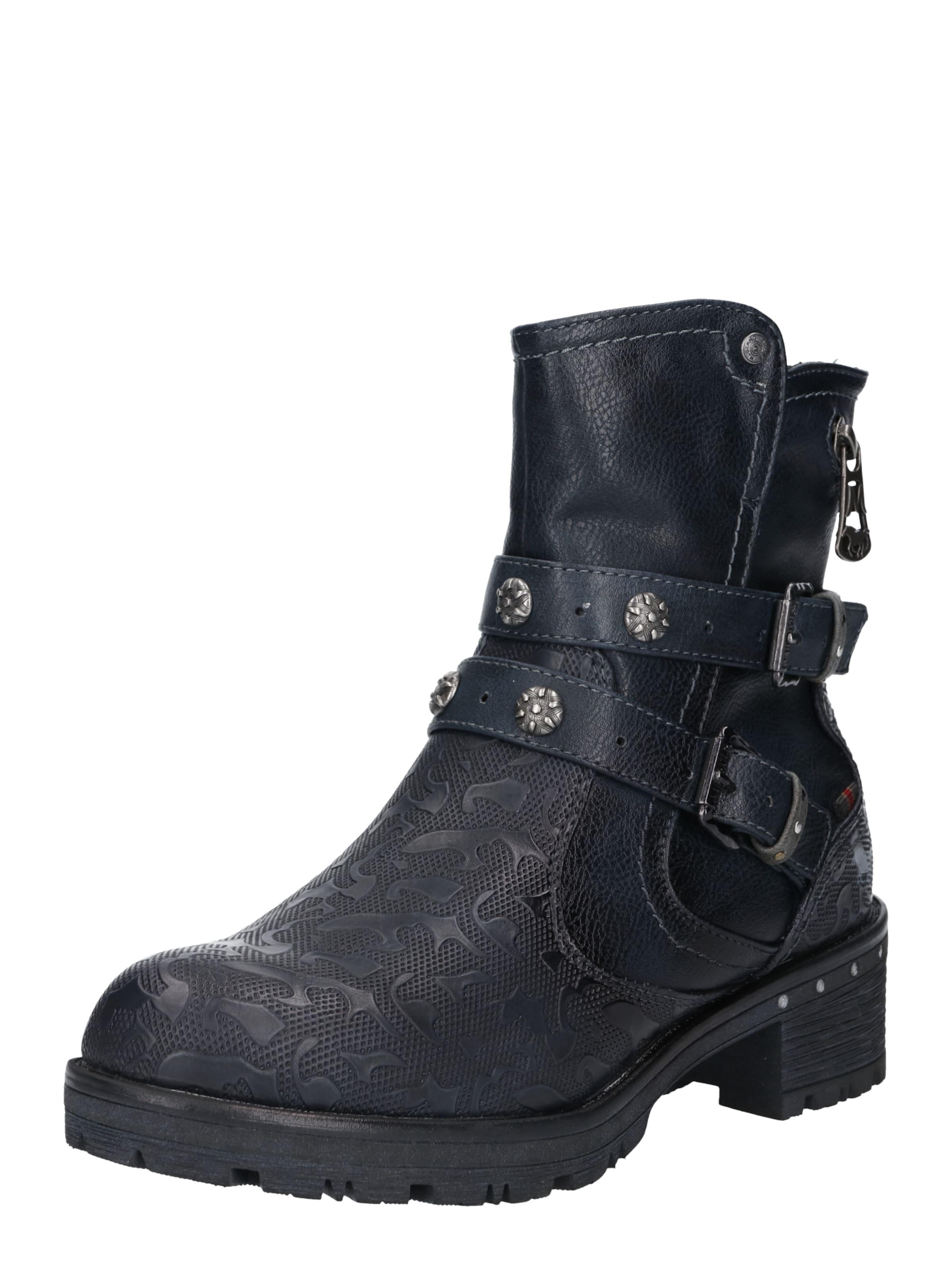 Boots Boots Mustang En Bleu Marine Mustang En Marine Bleu 76yfgb