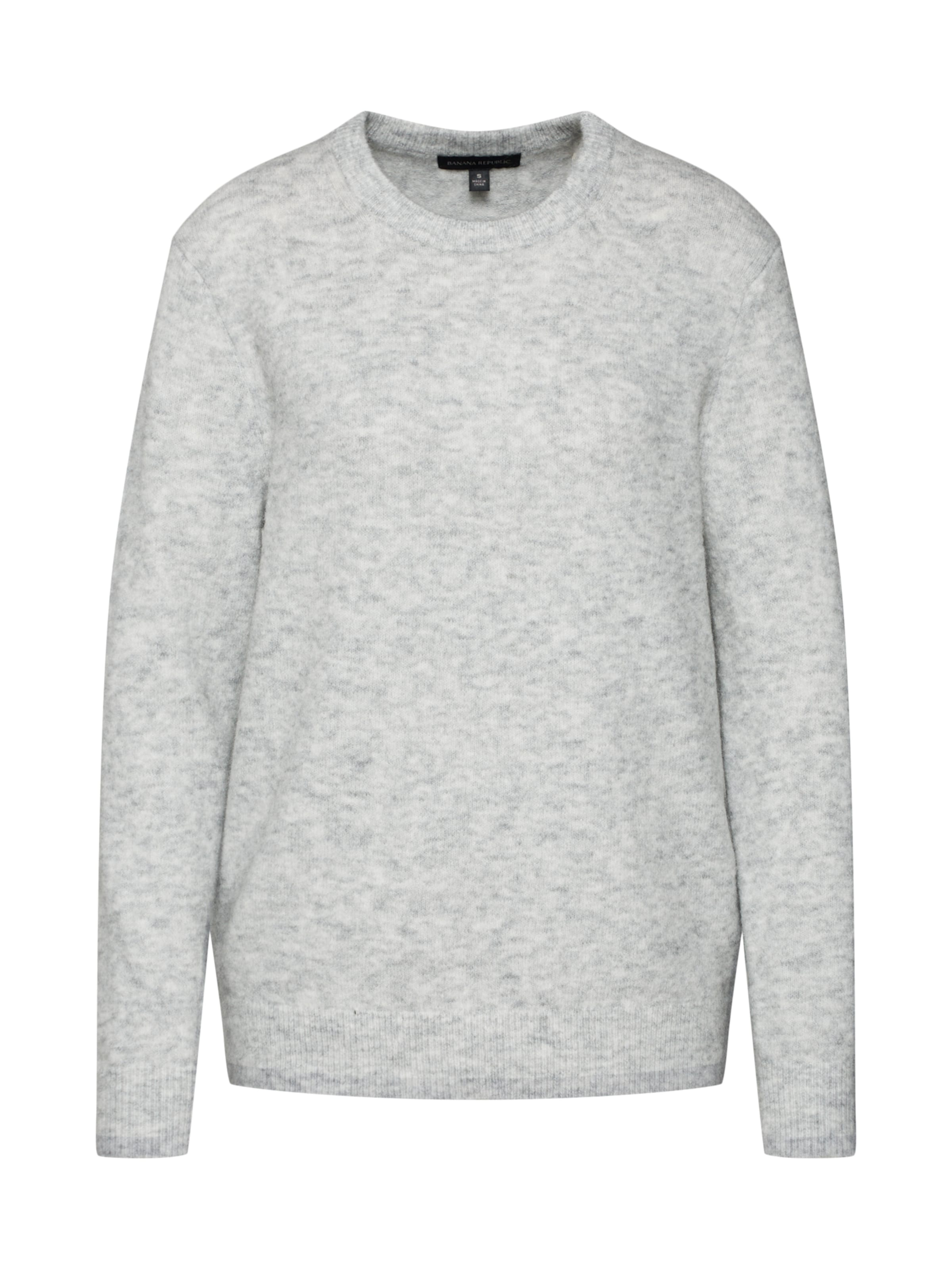 En over Clair Pull Gris Republic 'fluffy Crew' Banana hxBtsrCQd