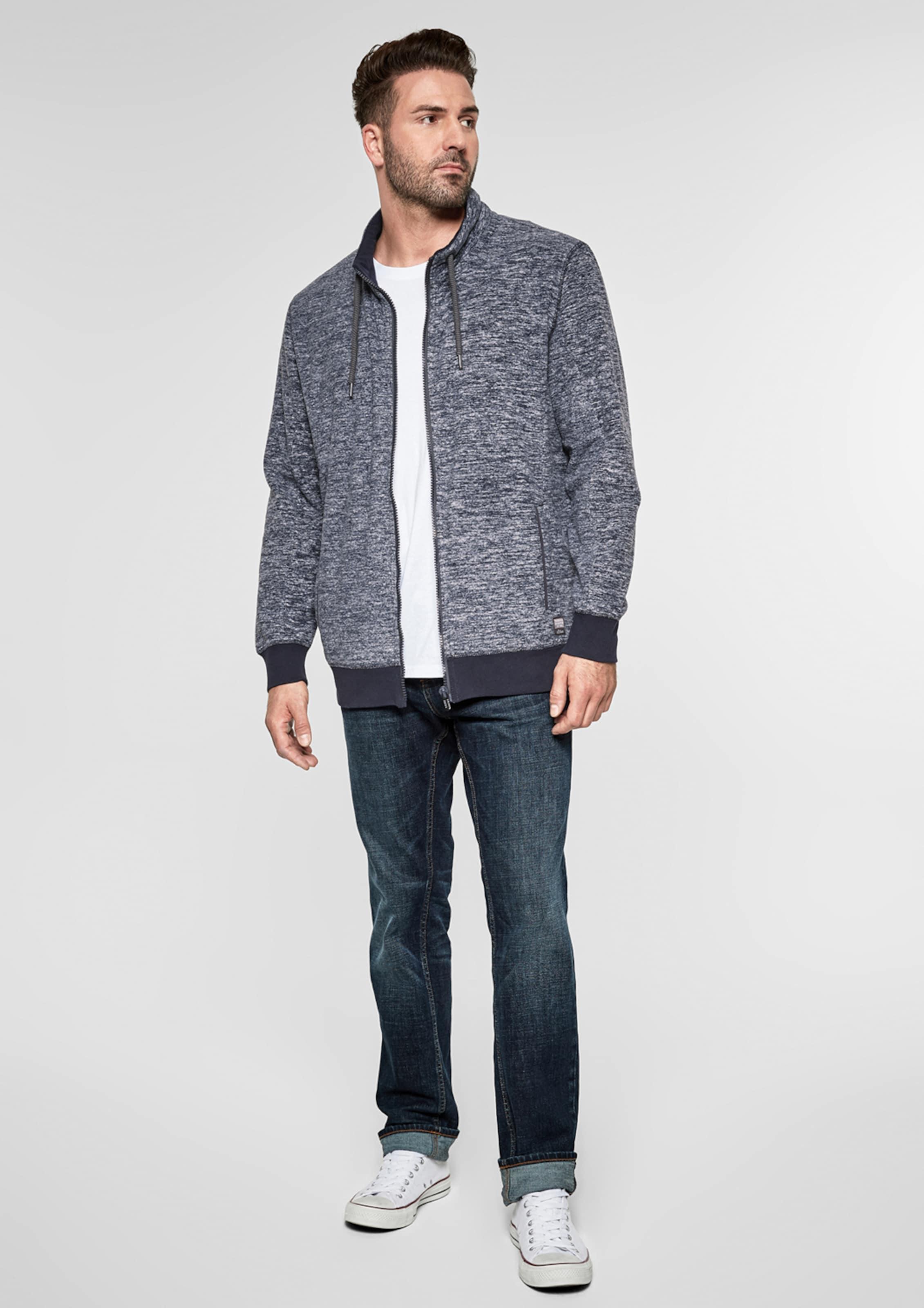 Label oliver In Jacke Fleece MarineNachtblau S Red SqVMpUz