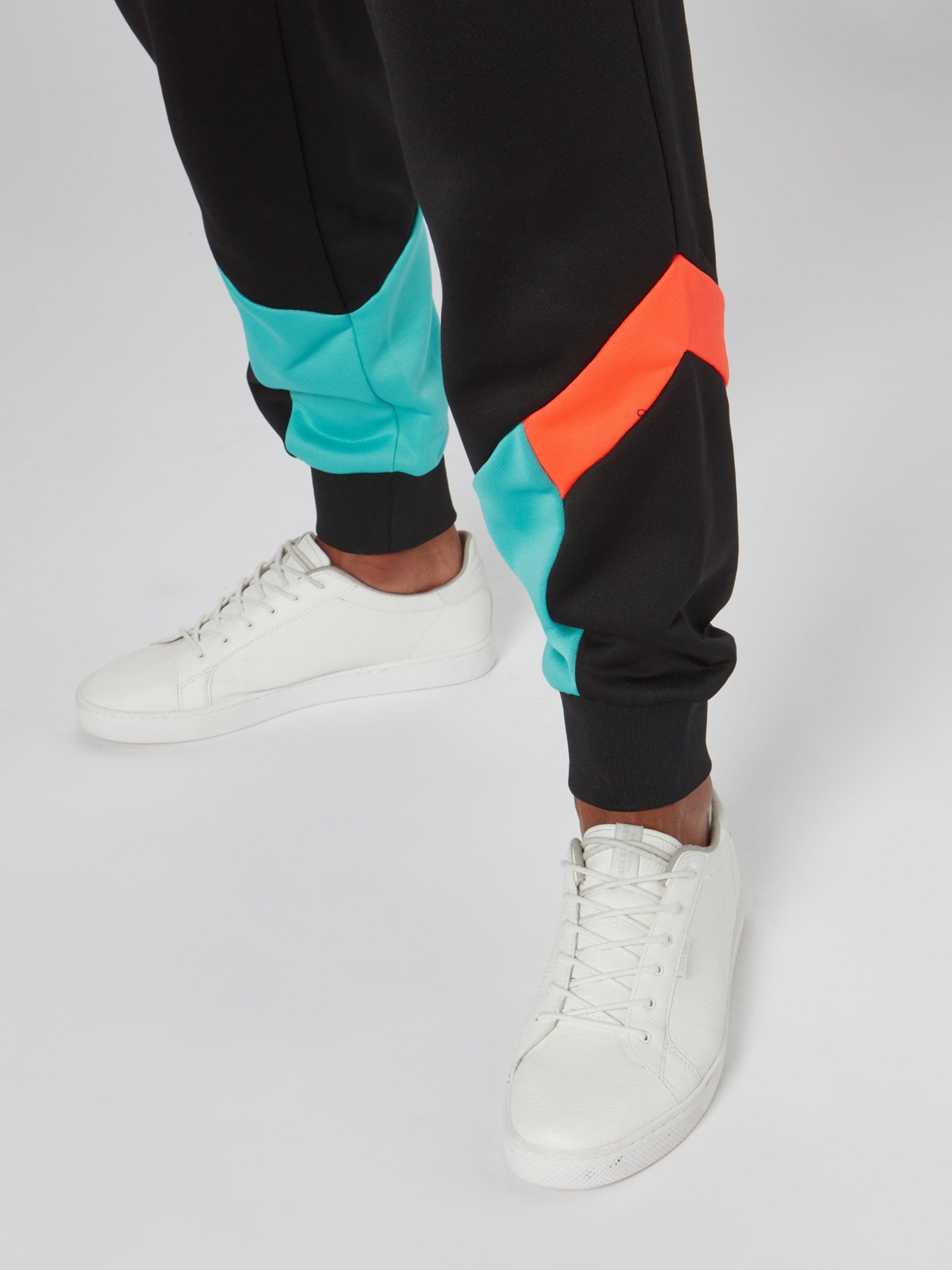 'iconic Blanc RougeNoir Pantalon Cuff' Puma Mcs En oexWrCBd