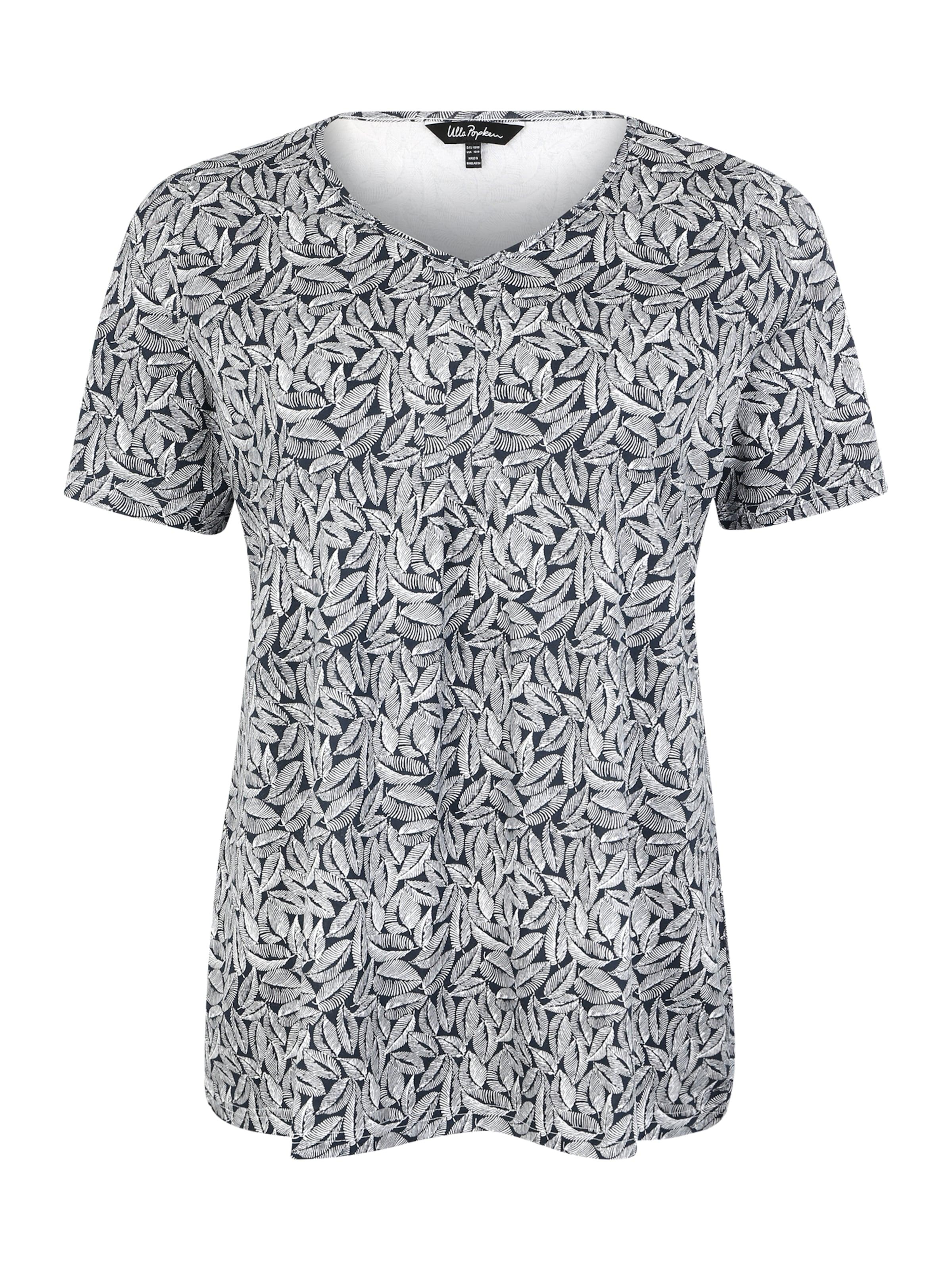 DunkelblauWeiß Popken In Ulla 'minimal' Shirt qSVMUzp
