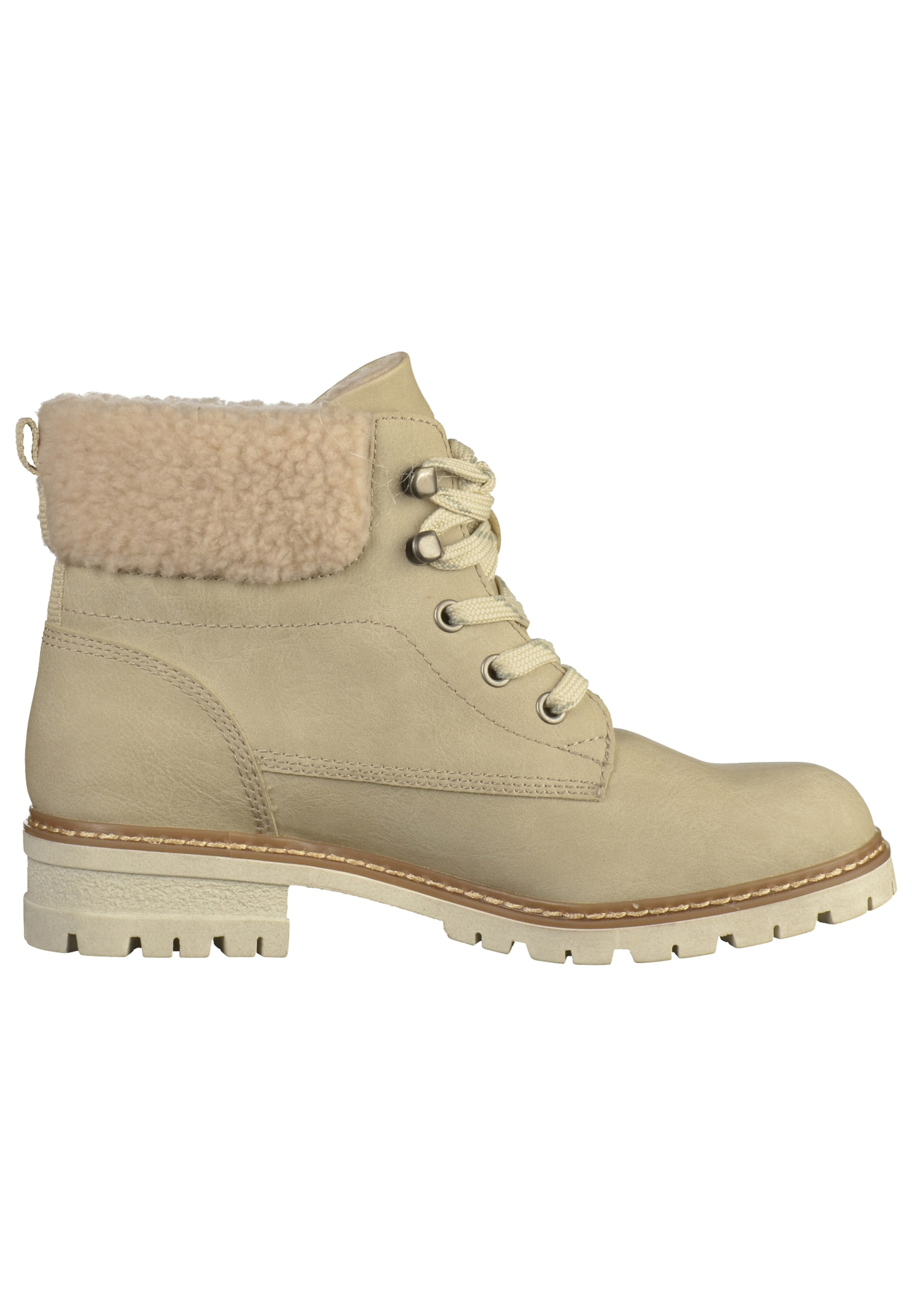 oliver À En Lacets Red Label Beige Bottines S cJKlF1