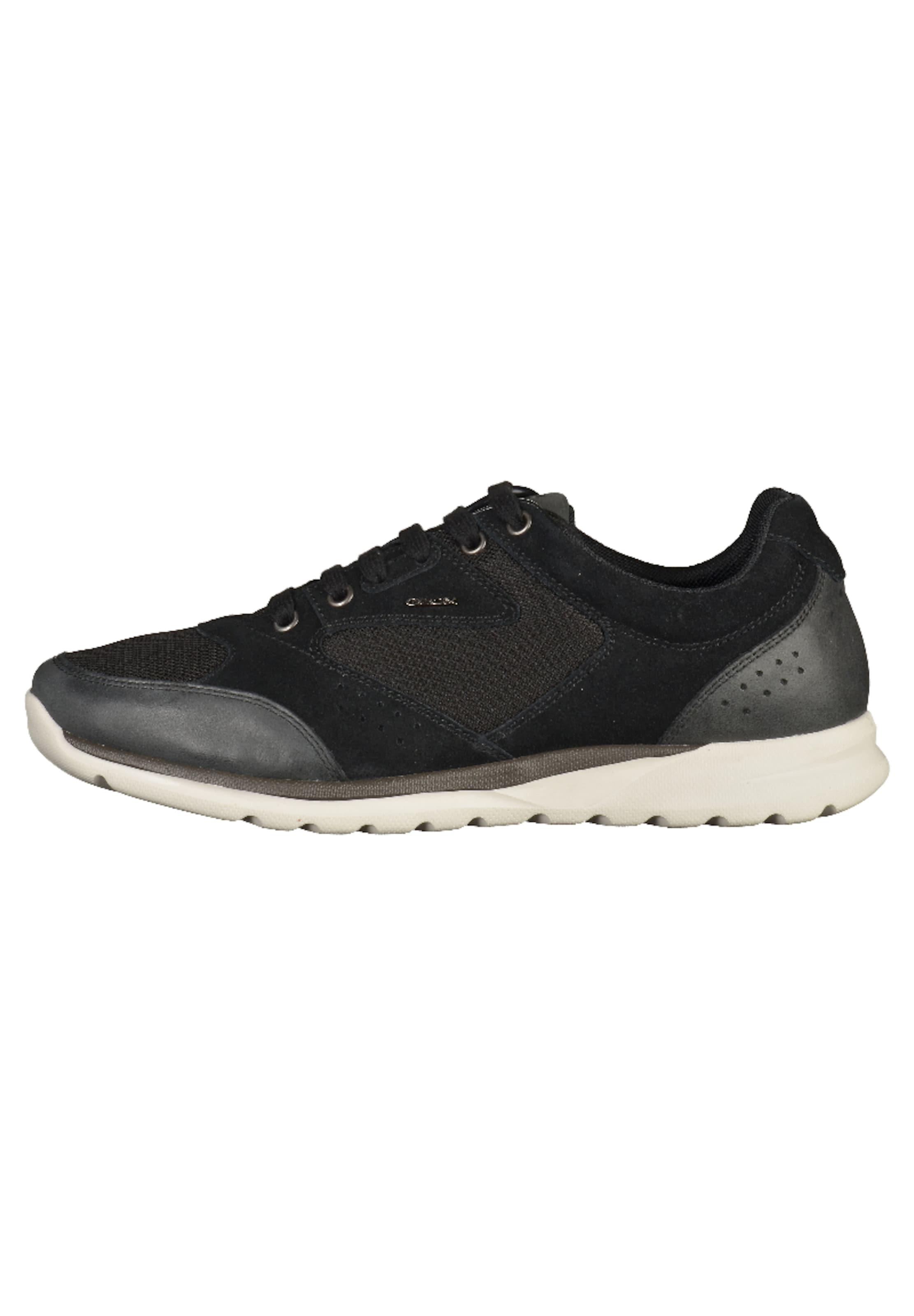 Lacets Sport Chaussure Noir Geox À De En 3Ajq4LS5cR