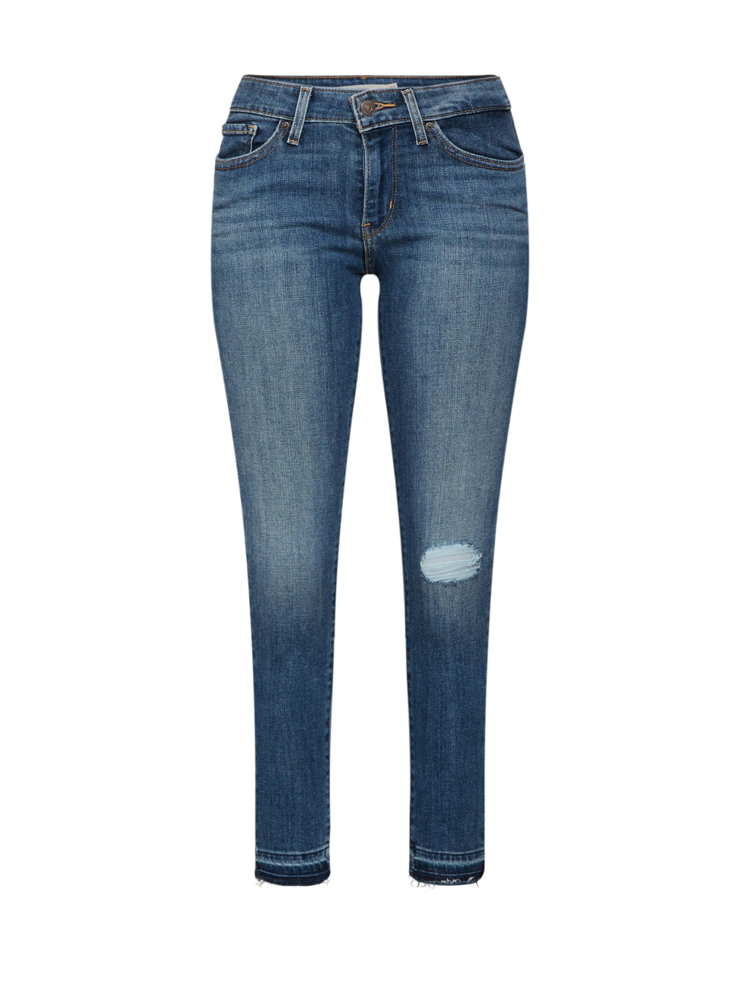 Denim Levi's Skinny Jean Bleu '711 En Ankle' lFKT1cJ
