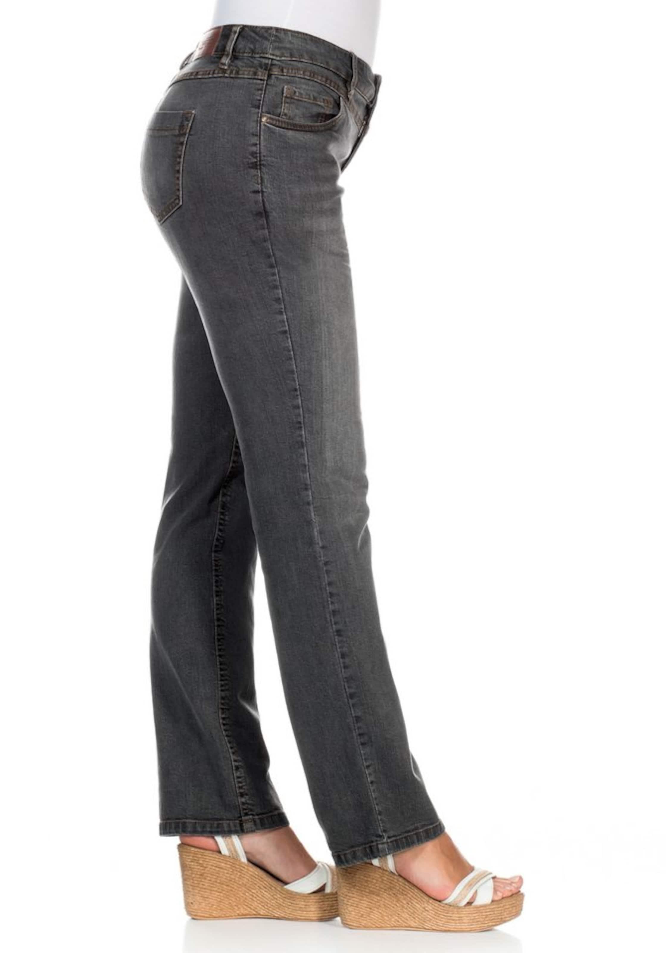 Schnitt jeans Geradem Sheego Stretch Grey Mit Denim In g7bfy6