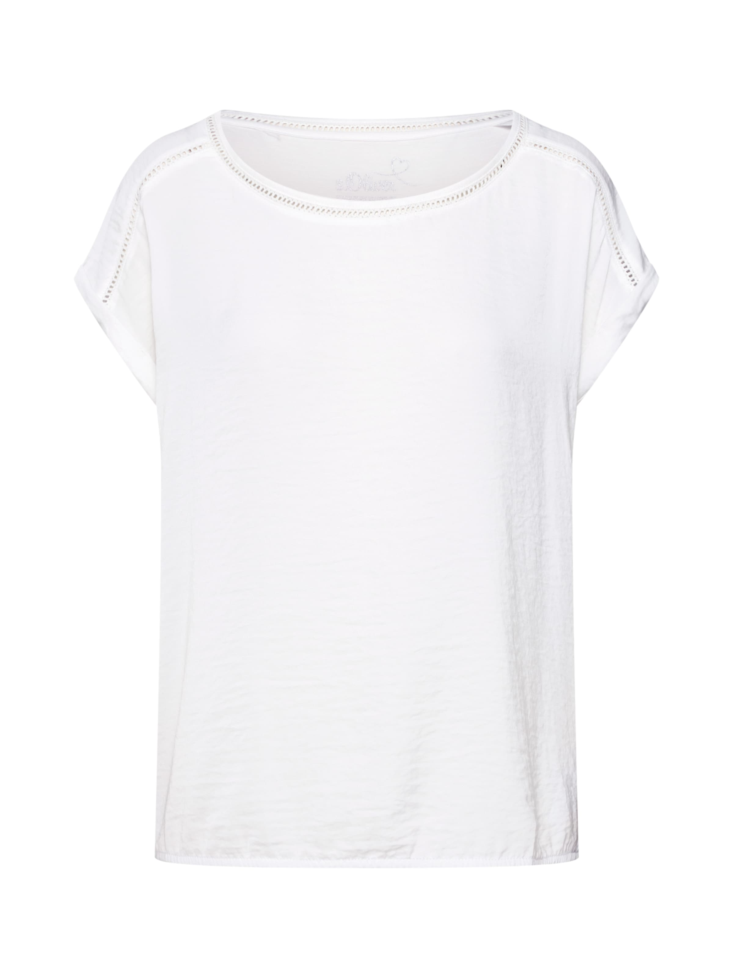 T S shirt Rouge Label En oliver Red uTOXZkiP