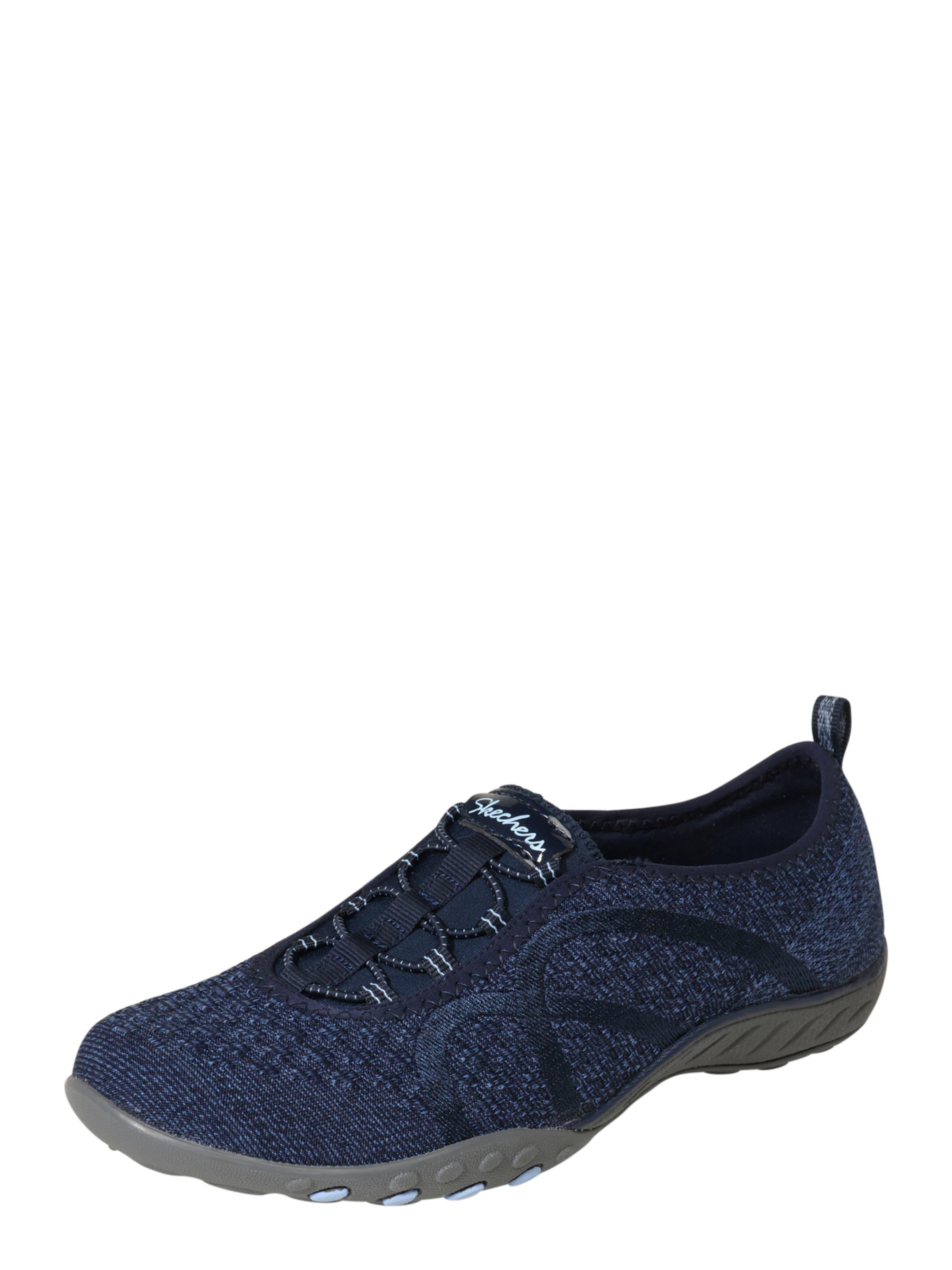 Skechers Marine Basses Bleu Baskets En IbgvfY67y