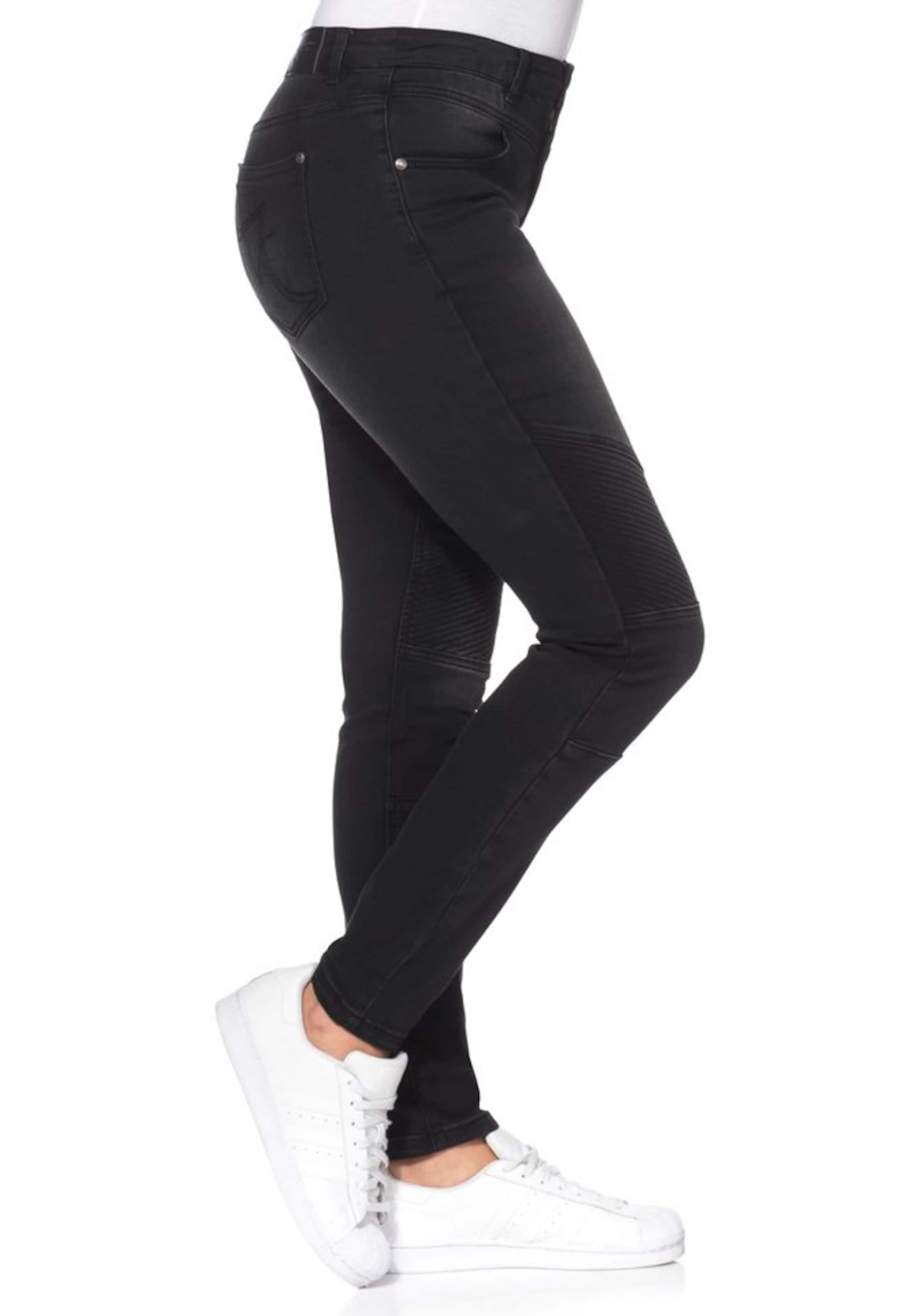 In Sheego Stretch Denim Black jeans YbfyI6m7vg
