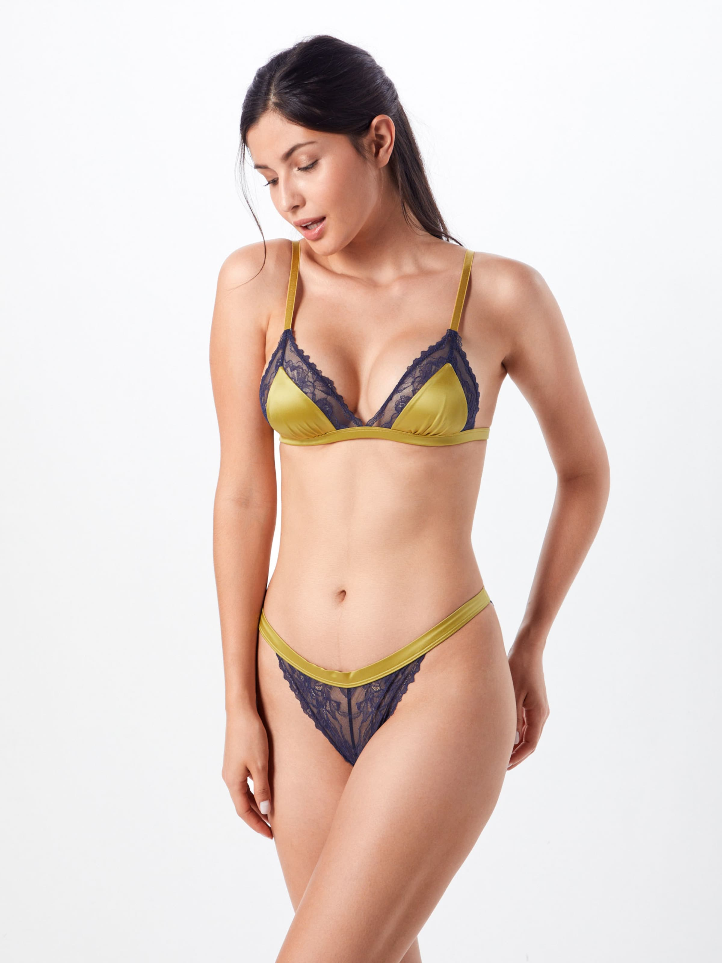 'poetry Lace' Fashion gorge Soutien Moutarde Mey En Ybfgy76