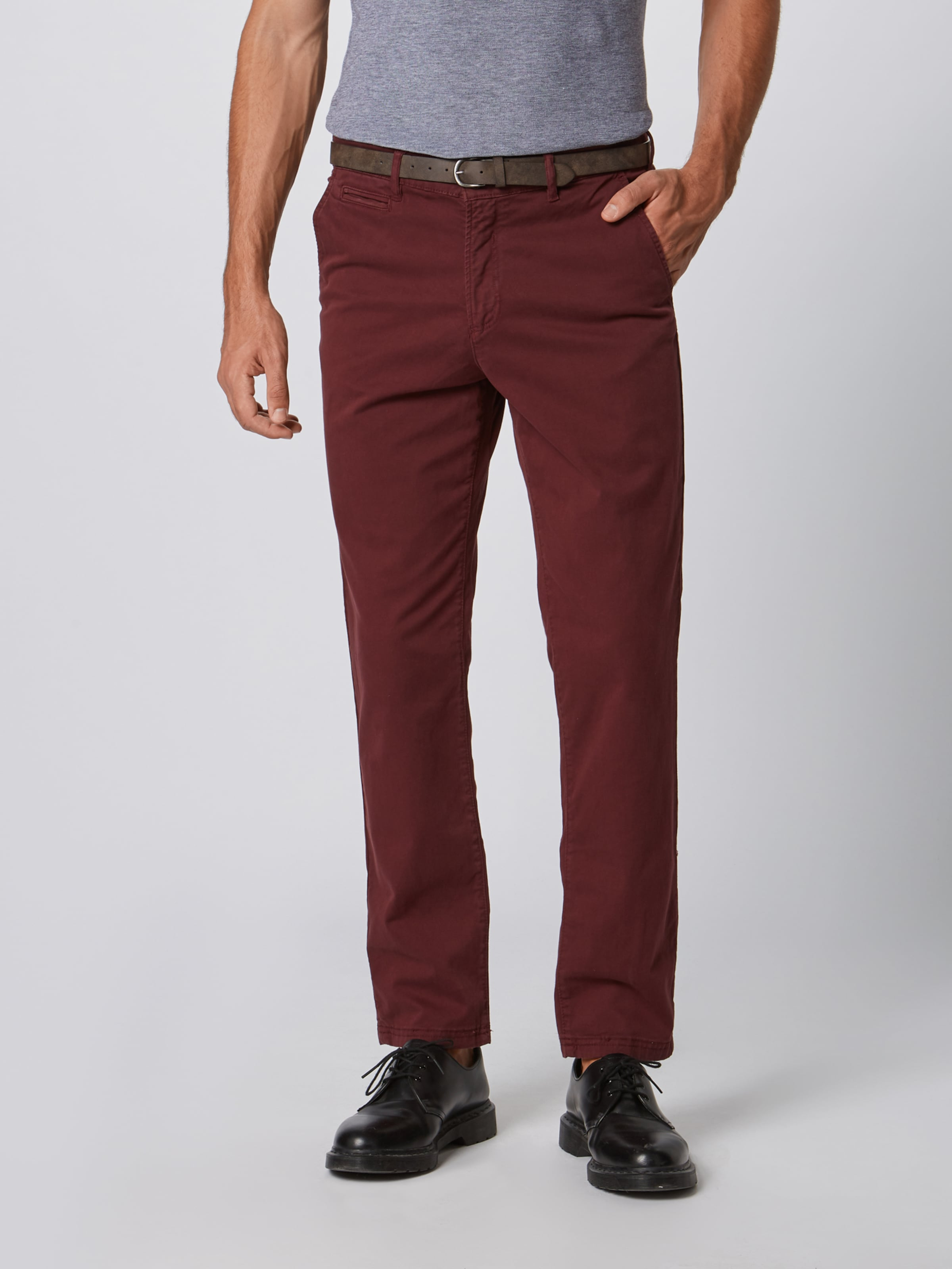 Jones En 'roy Pantalon Jackamp; Chino James' Bordeaux xBCrdoe