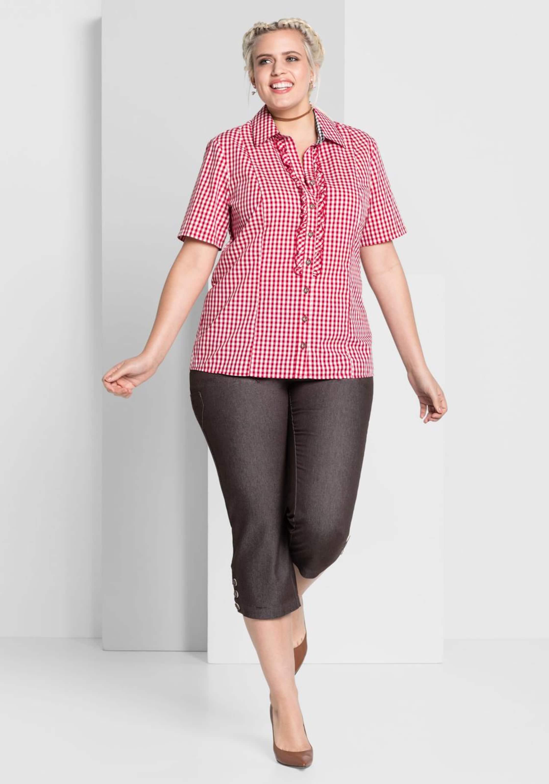 RotWeiß Bluse RotWeiß In Style Bluse Sheego Sheego In Style PXZiuOk