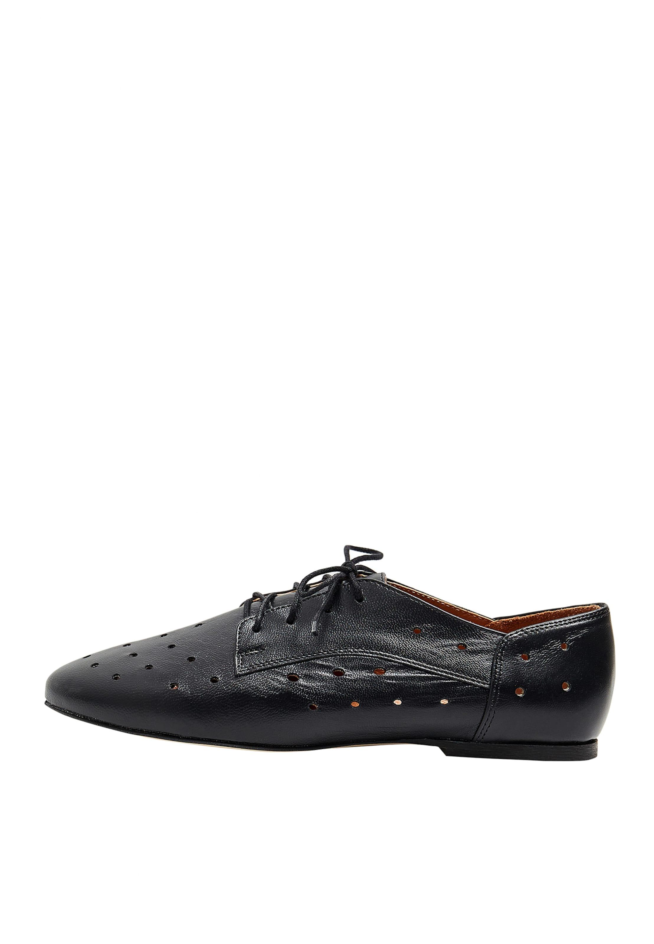 Chaussure Mymo Lacets À En Noir nwvmN8O0