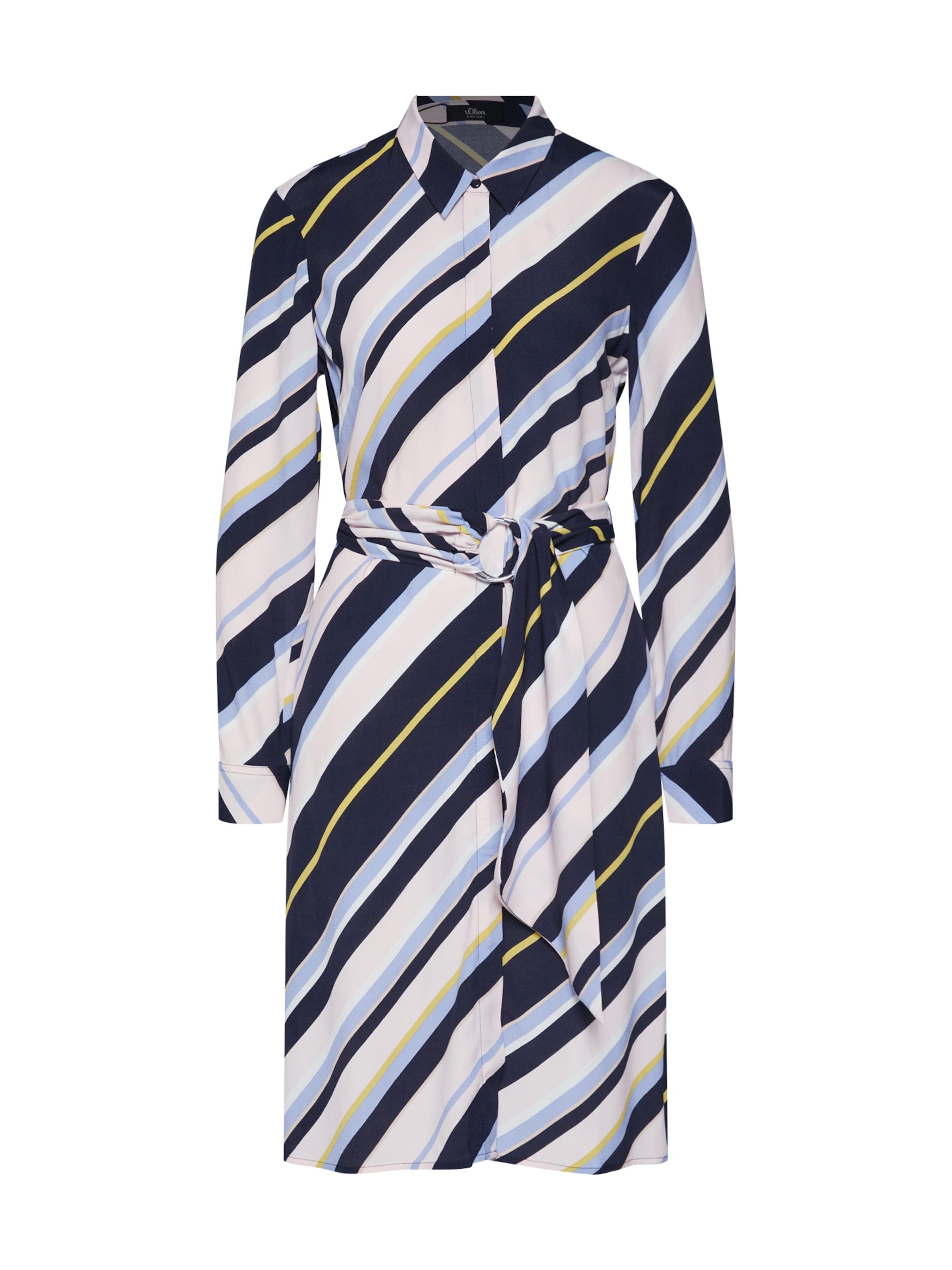 BleuMélange De Label oliver chemise En S Couleurs Black Robe JcFl3TK1