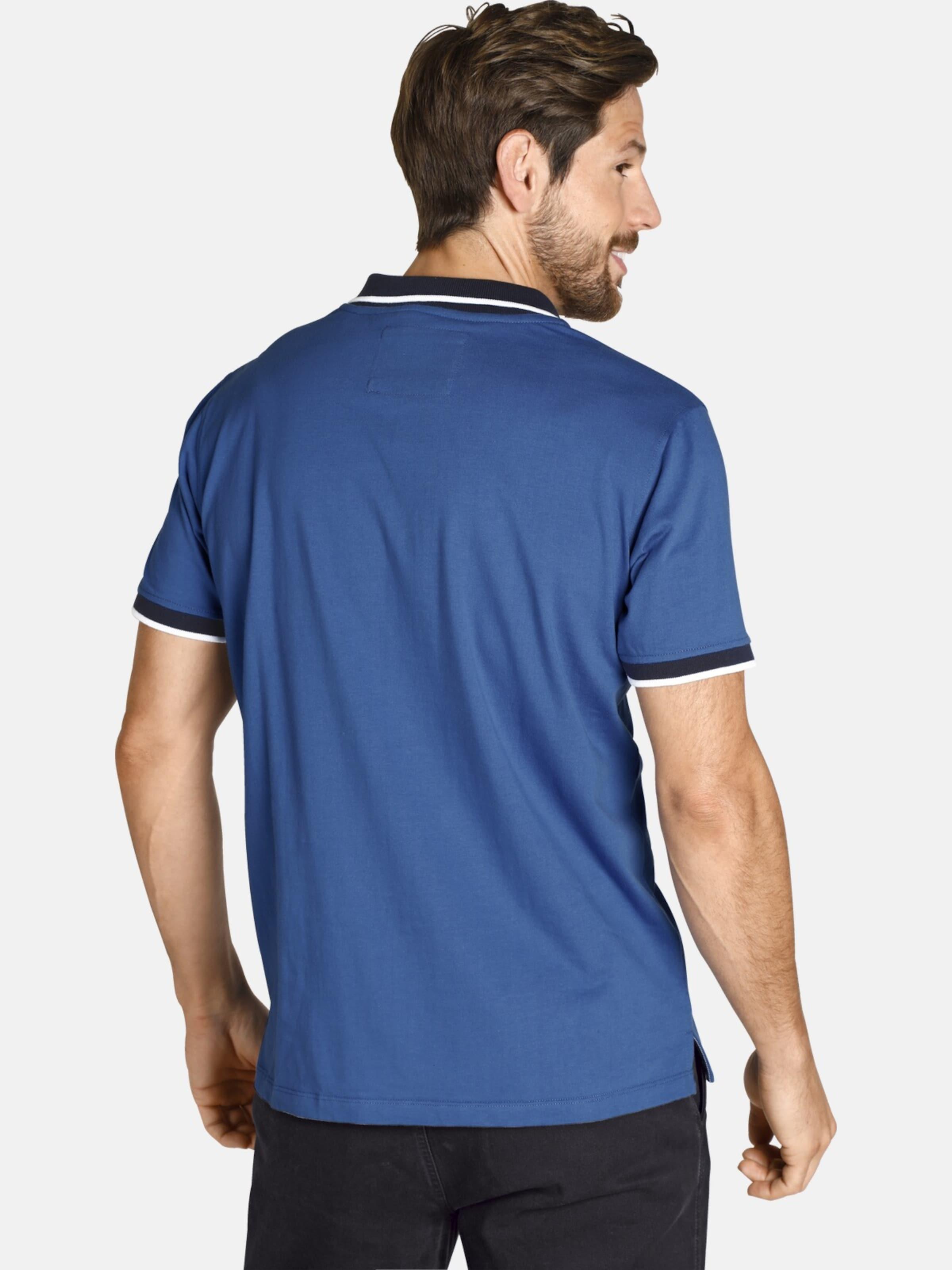 Adeke In Poloshirt Blau ' Vanderstorm Jan vyY76bgf