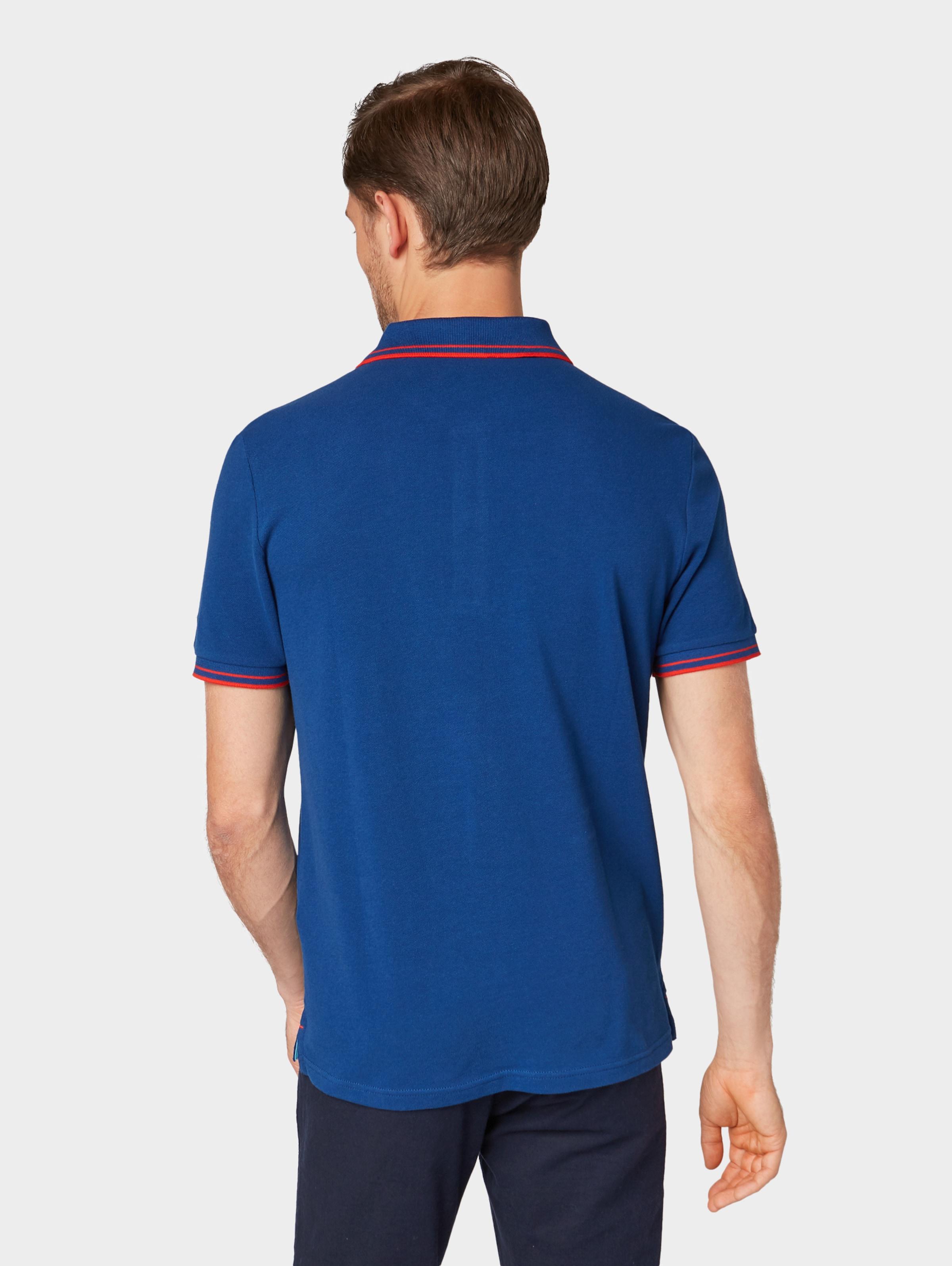 Poloshirt Poloshirt Tom In Tom Dunkelblau Tailor Tom Tailor In Poloshirt Tailor Dunkelblau ybfgY6v7