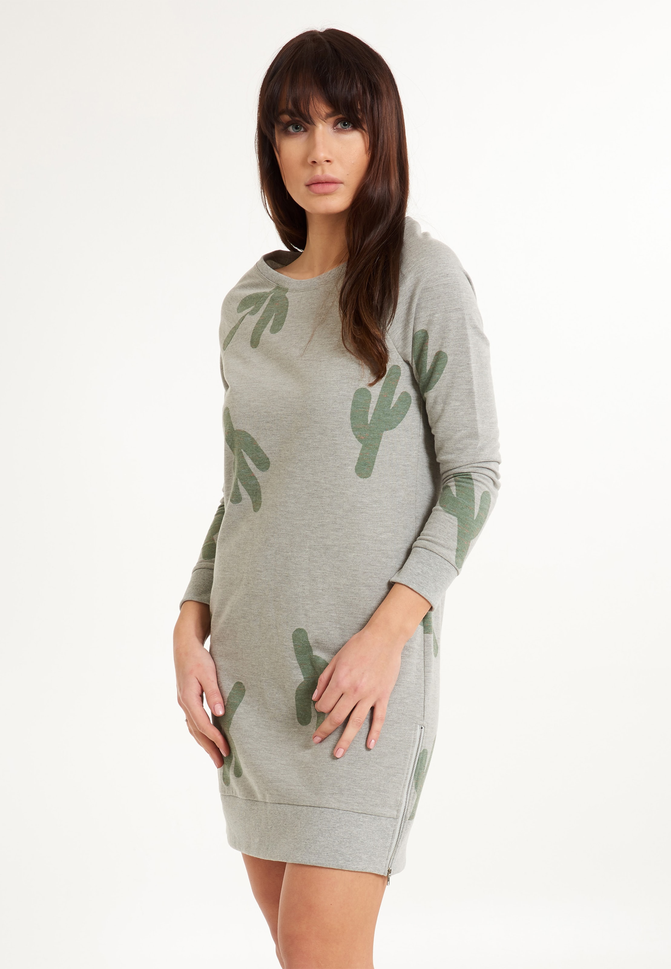Lingadore Lingadore Kleid In In Lingadore Kleid GraumeliertGrasgrün GraumeliertGrasgrün TXuZlkiOPw