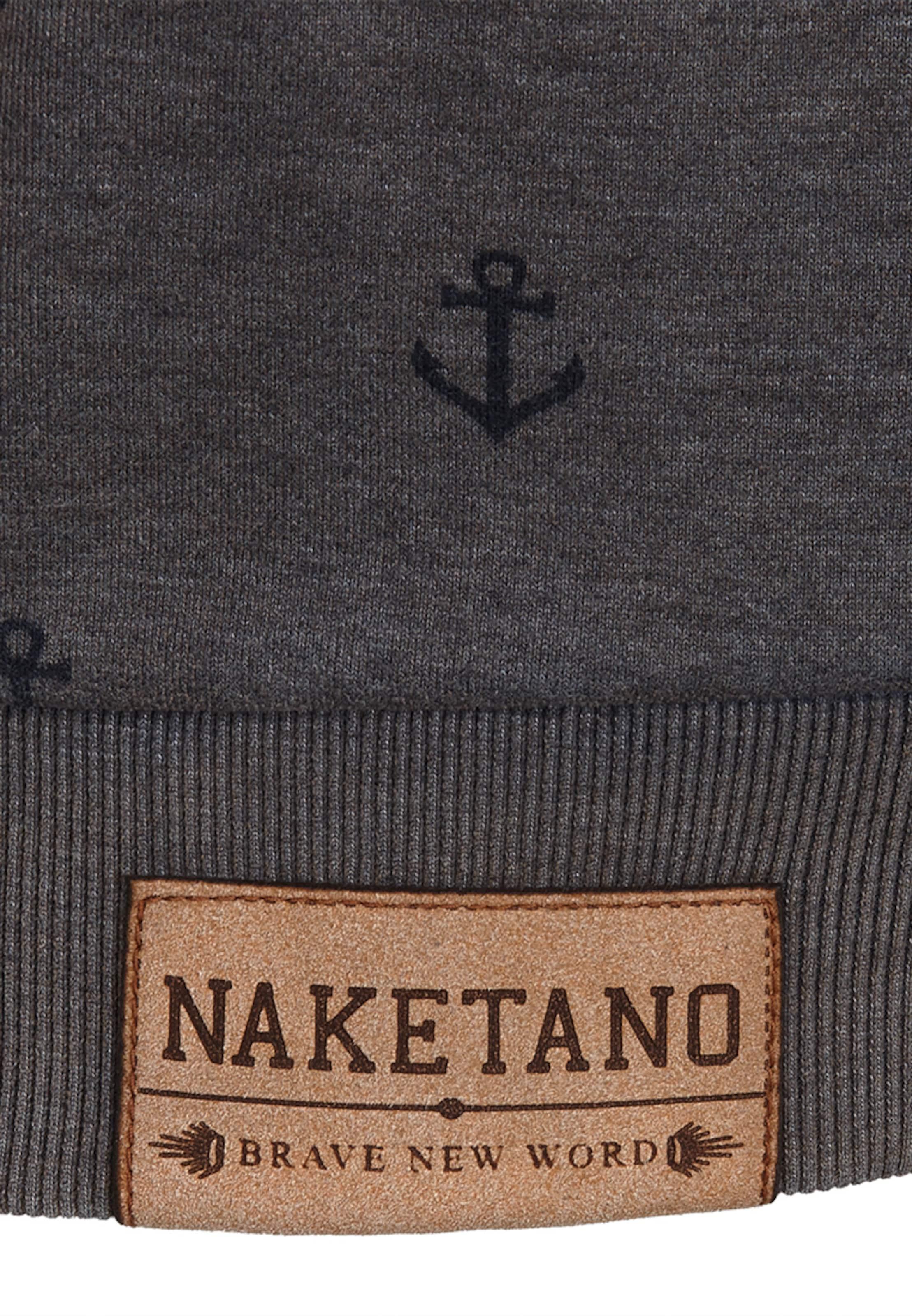 Taupe 'wladimir shirt Sweat Fickdusiemir' Naketano En vmn0N8w