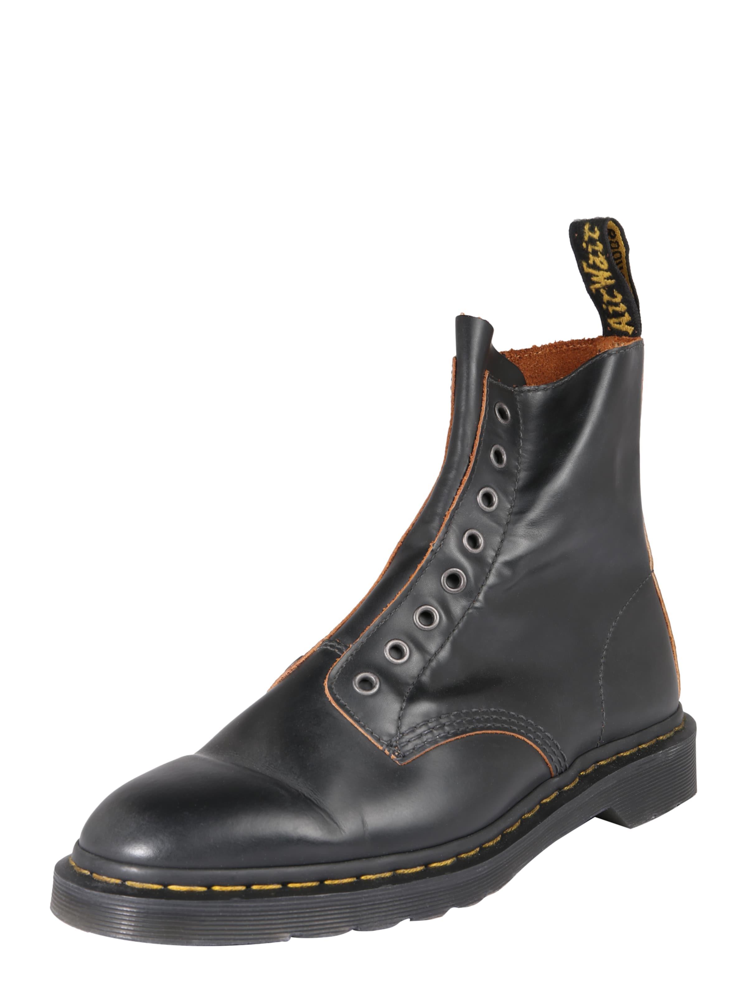 '8 En Laceless' 1460 Eye Noir Bottes Boot DrMartens 80OkXPwn
