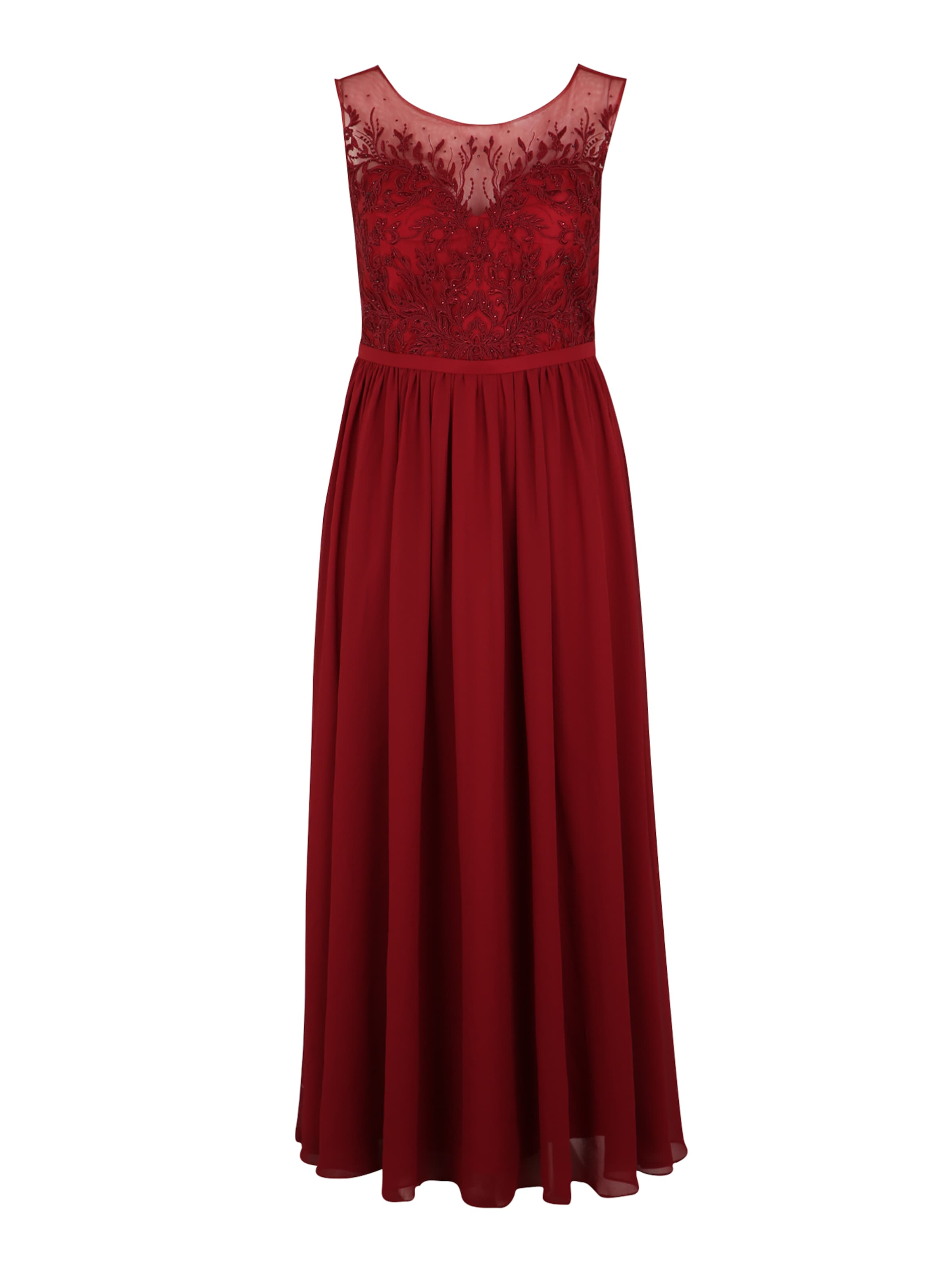 Mascara 'lace In Curves My Shoulder' Kleid Rot nvmN8w0O