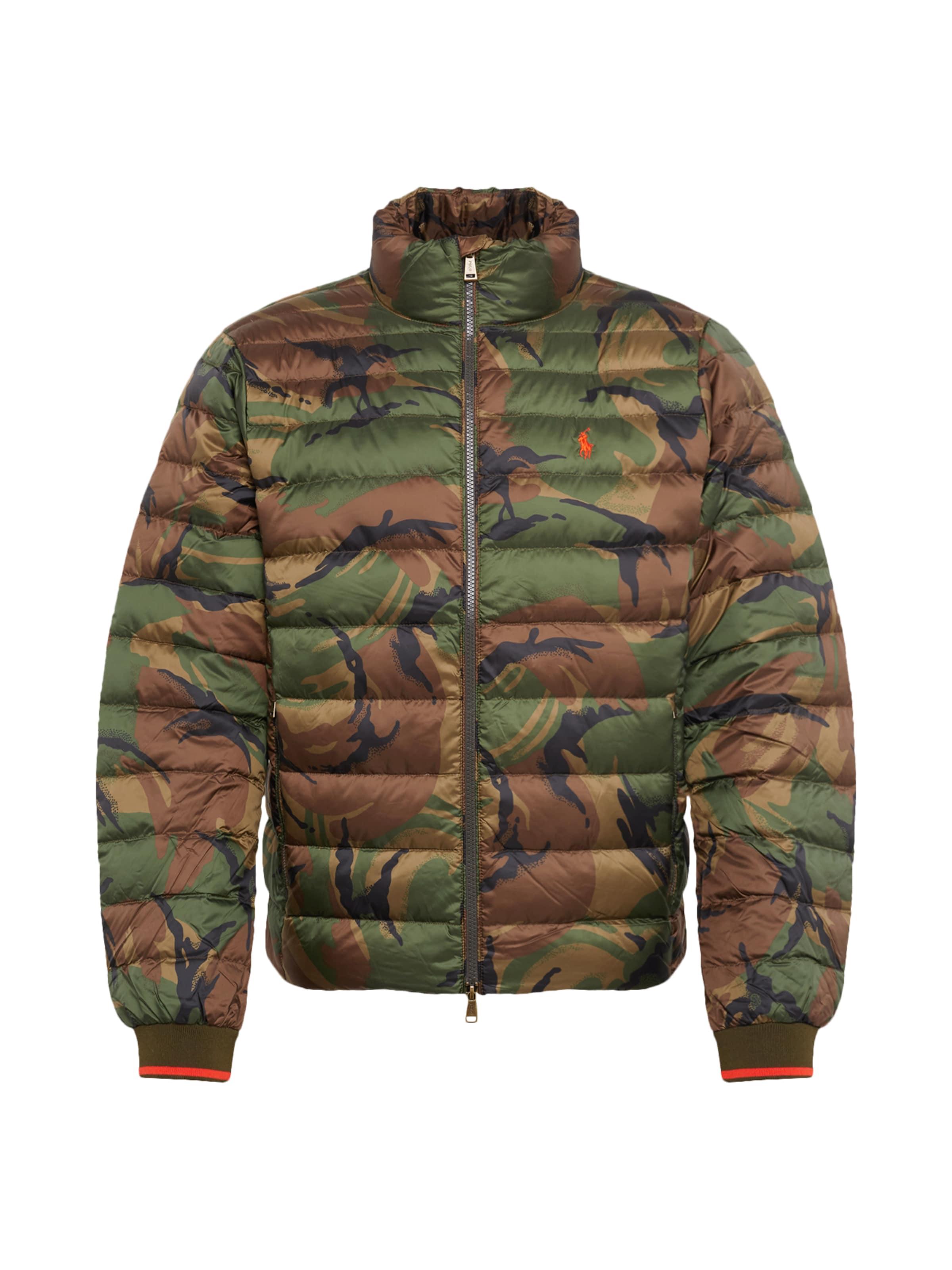 MarronVert Veste D'hiver Jacket' Polo 'holden Ralph En Lauren V2 0kPw8OXn