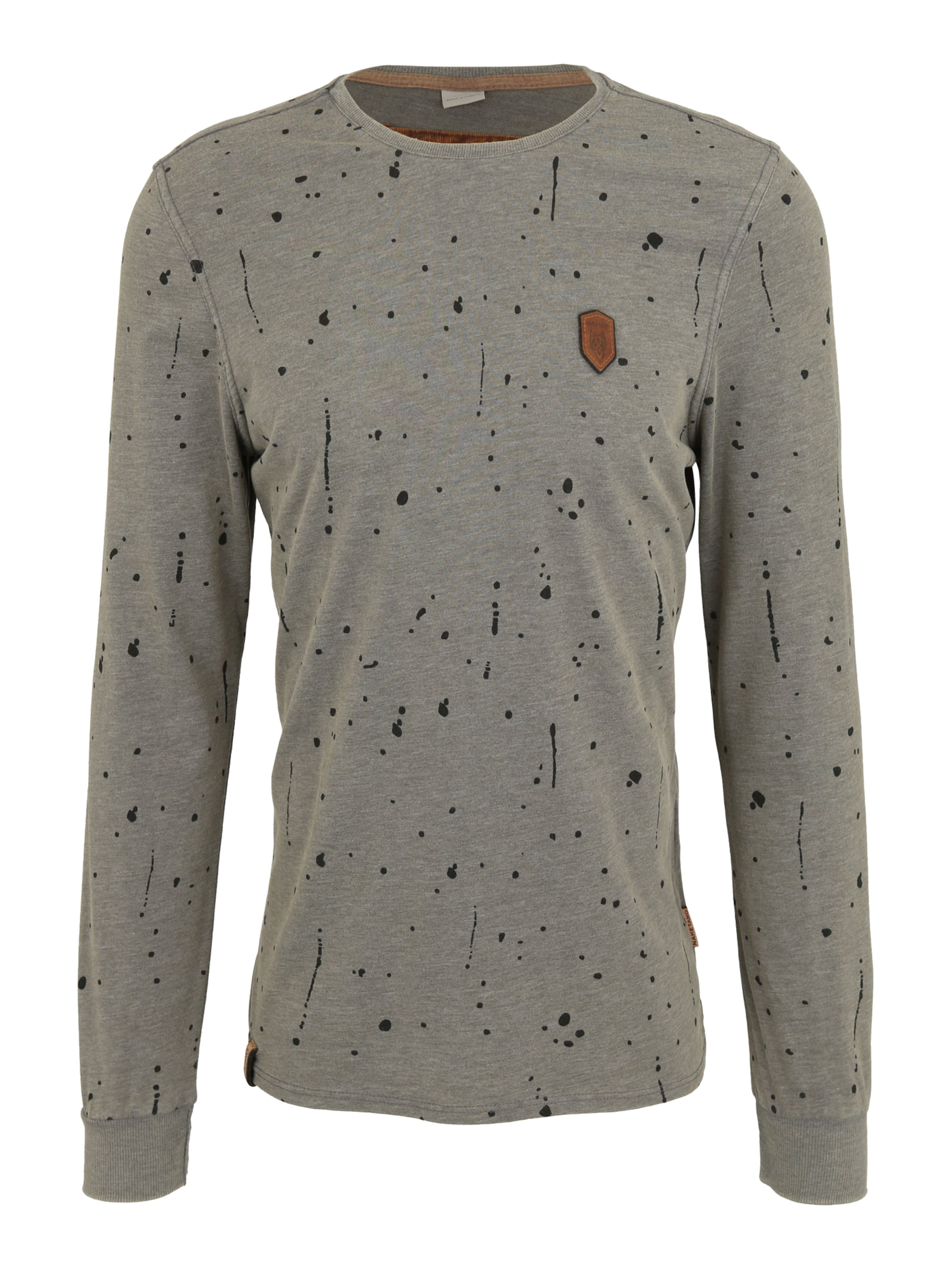 Men' Naketano Sweat En shirt Gris Foncé 'nordschleife Made 6yfbY7g