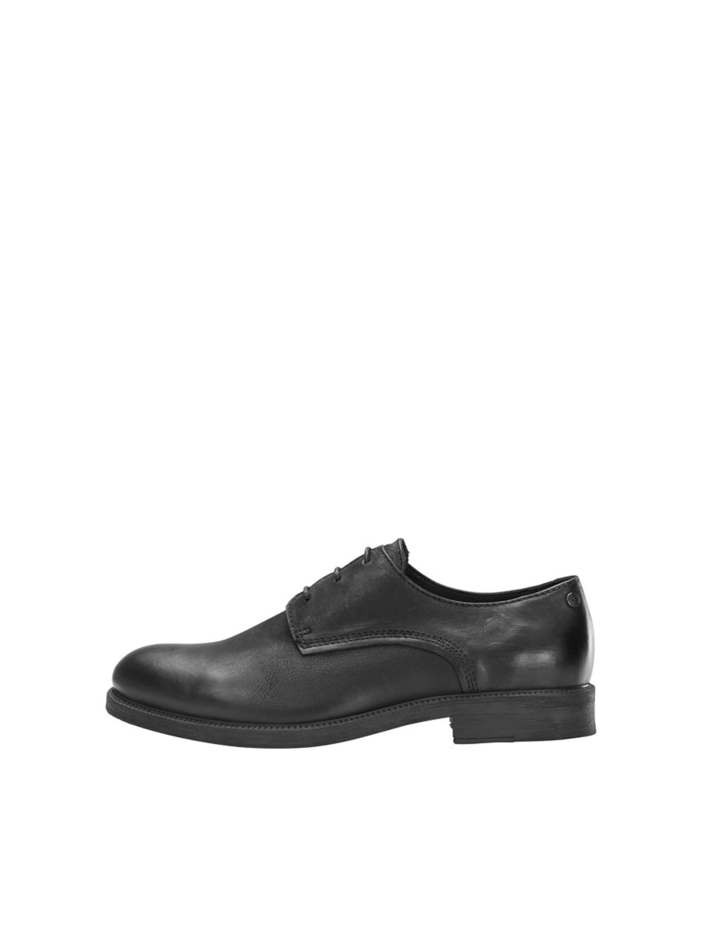 À Lacets Jackamp; Chaussure Noir En Jones 6gbIYvf7y