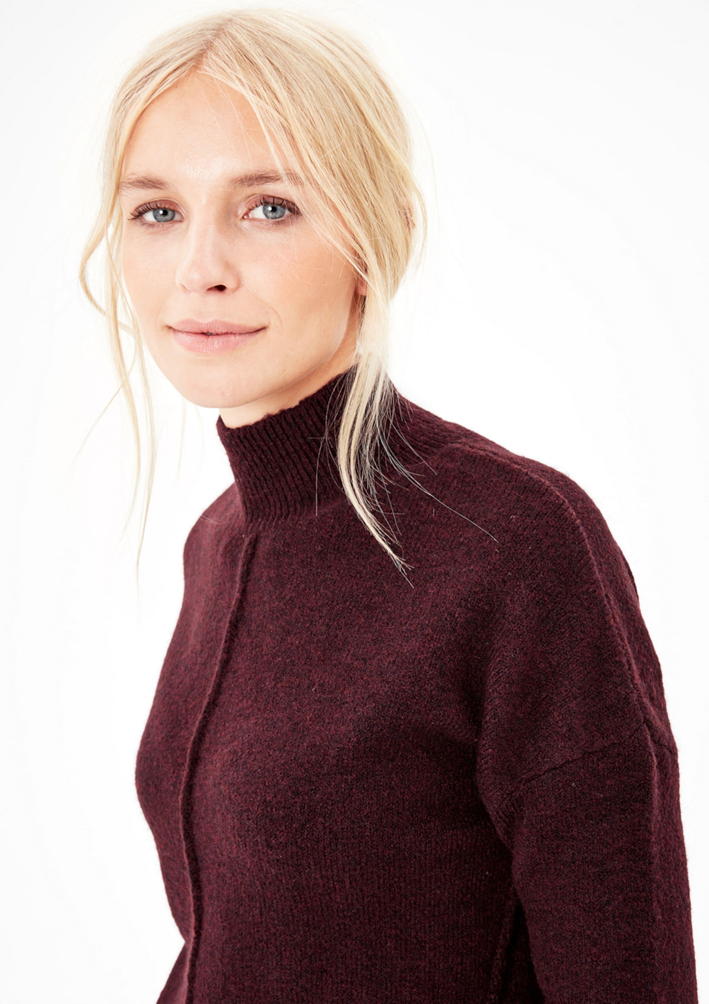 S oliver In Label Pullover Bordeaux Red FlcKJT1