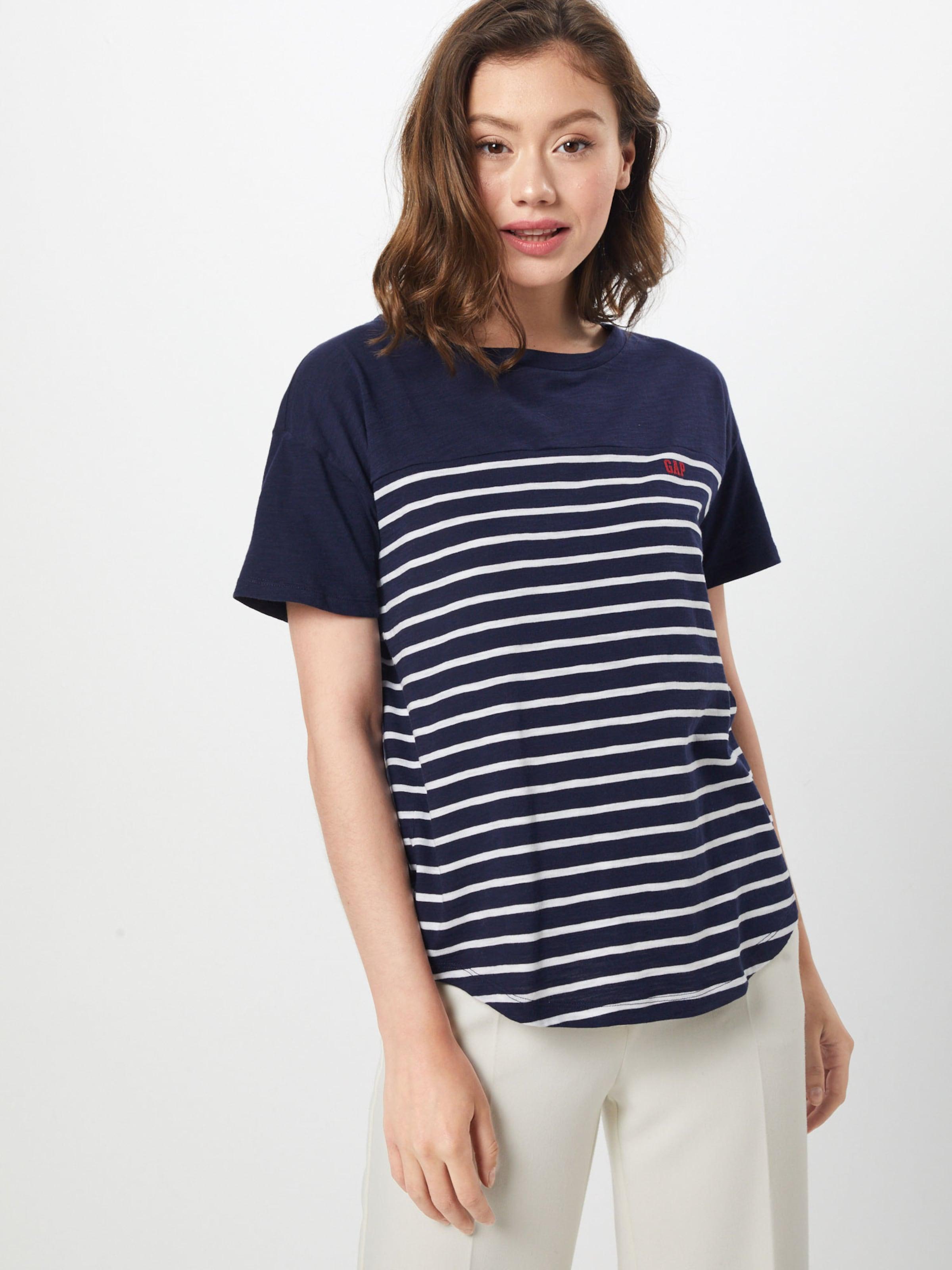 Gap shirt En MarineBlanc T Bleu TlF1J3Kc