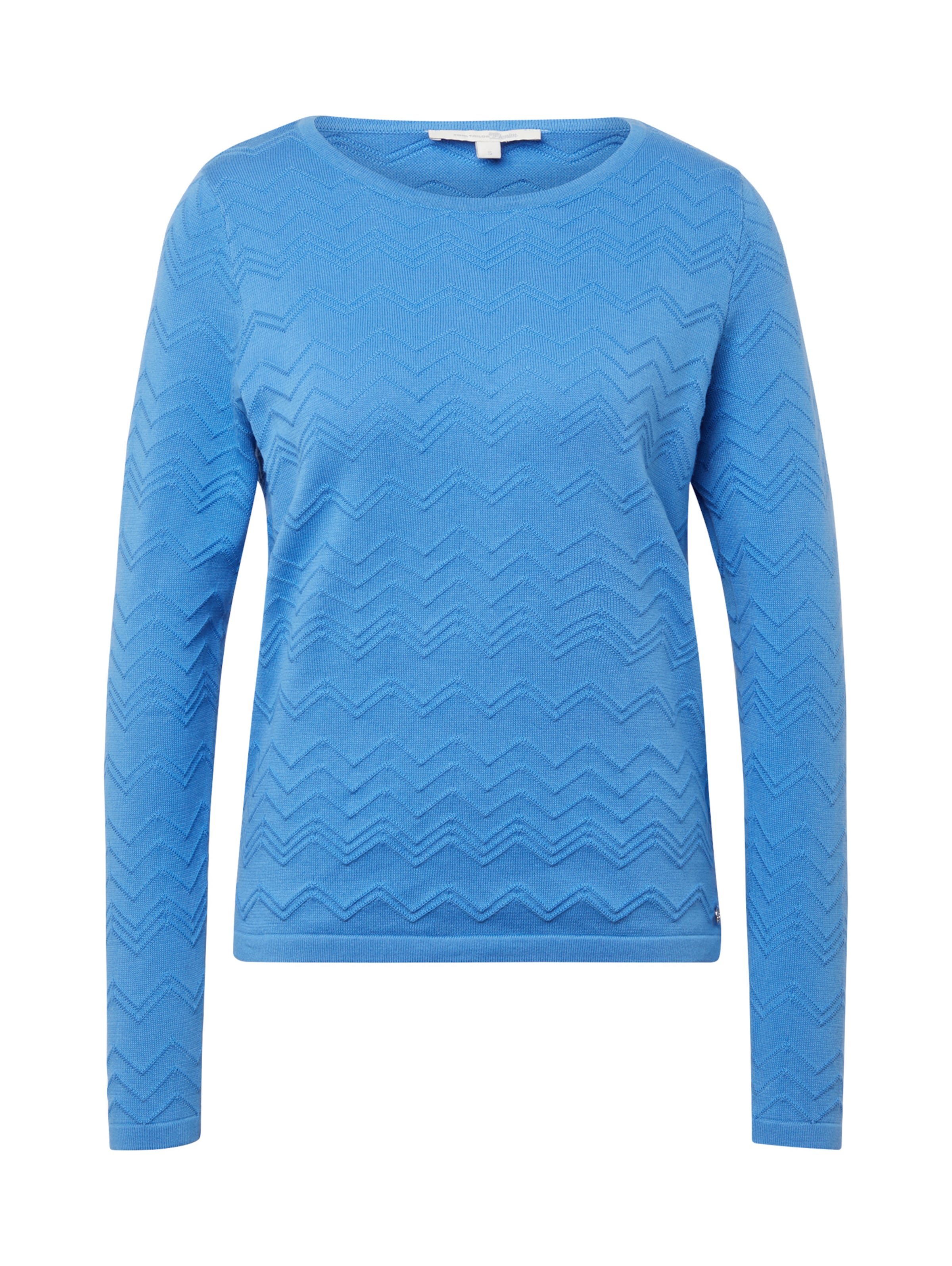 Hellblau Tailor Denim In Pullover Tom roWBdCxe