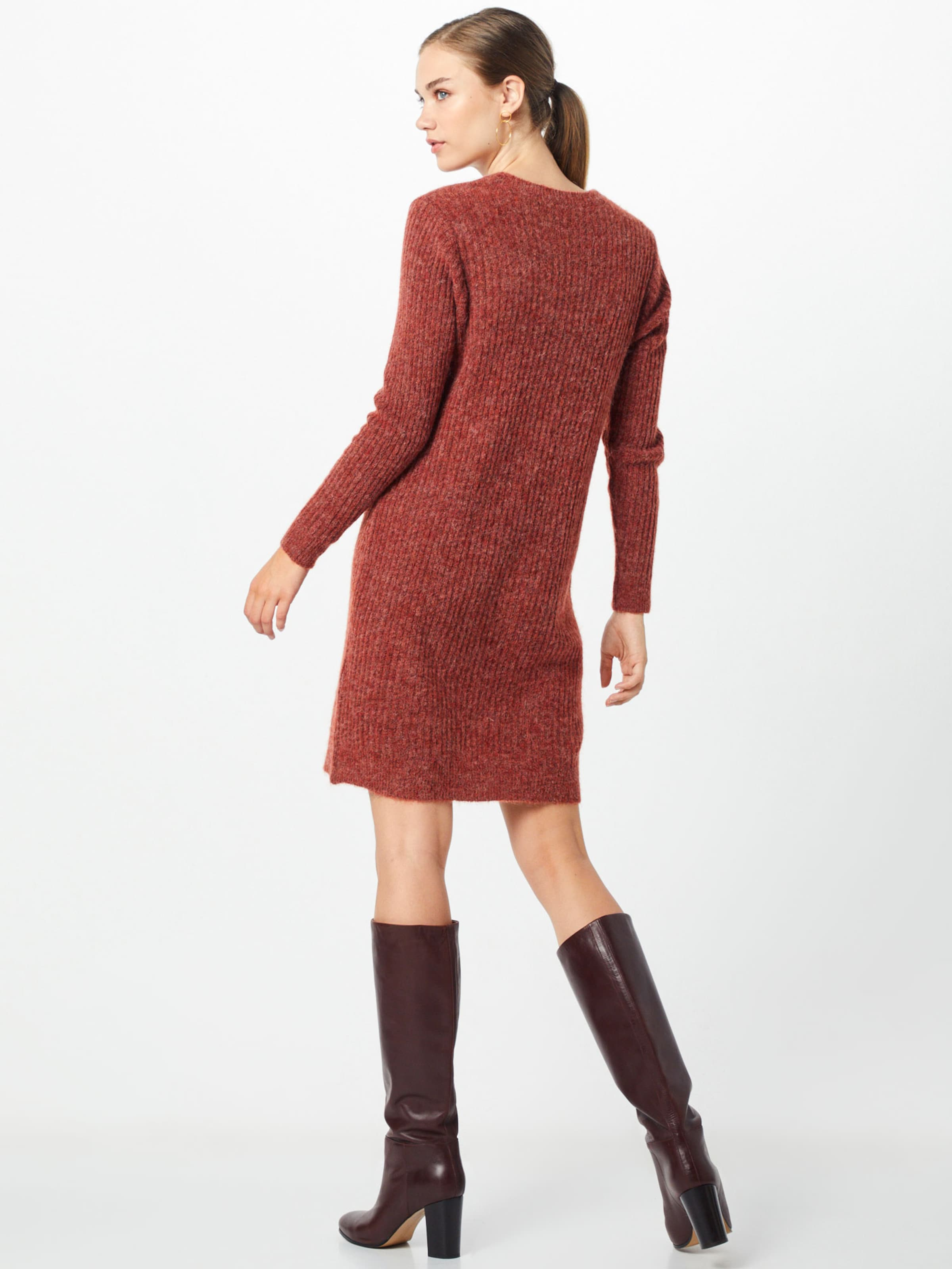 En Rouge Maille Robes Vila 'lowsa' Rouille Ib6Y7gyvf
