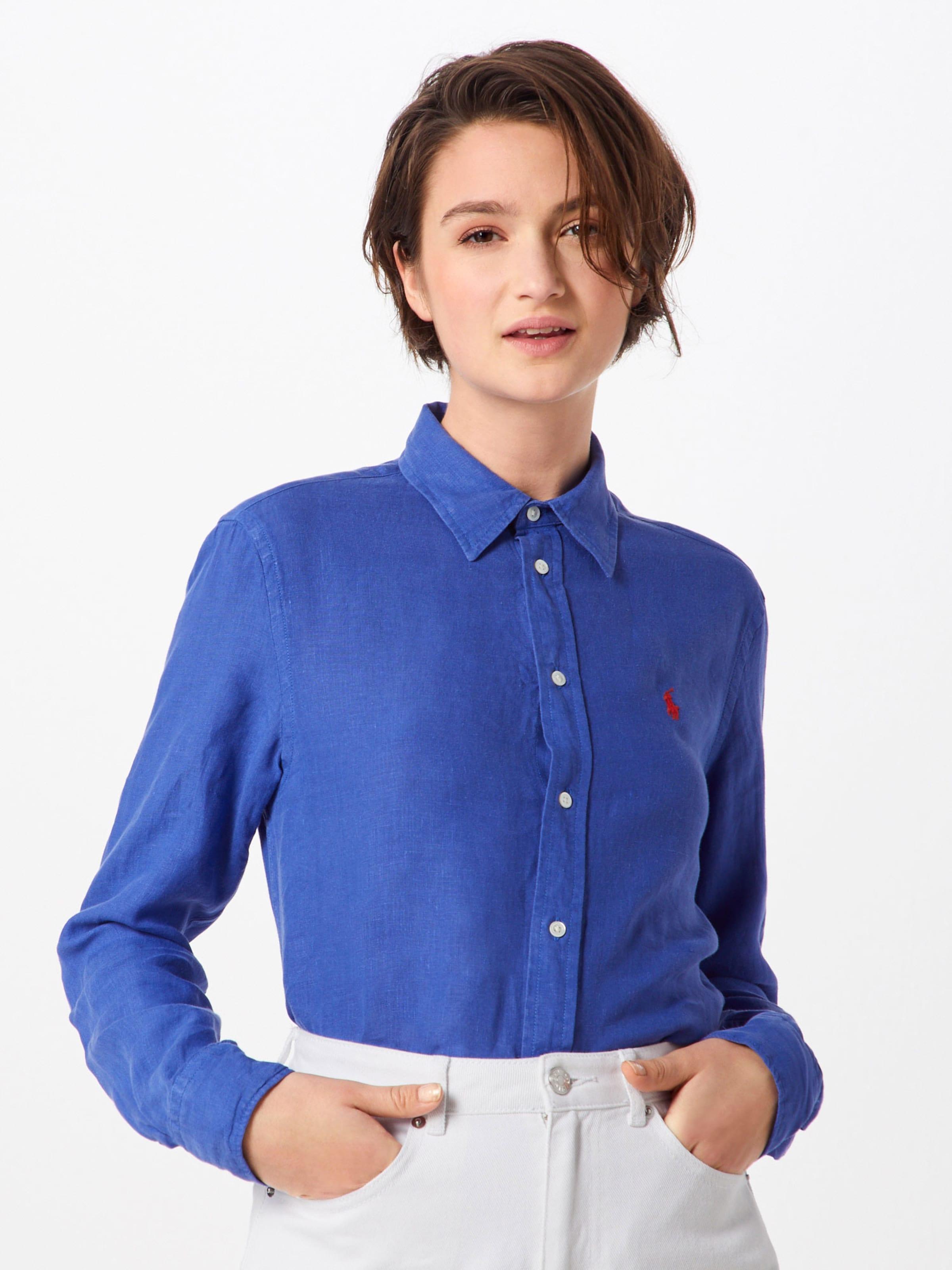 Bleu Polo Ralph Lauren En Chemisier NPX0w8OZnk