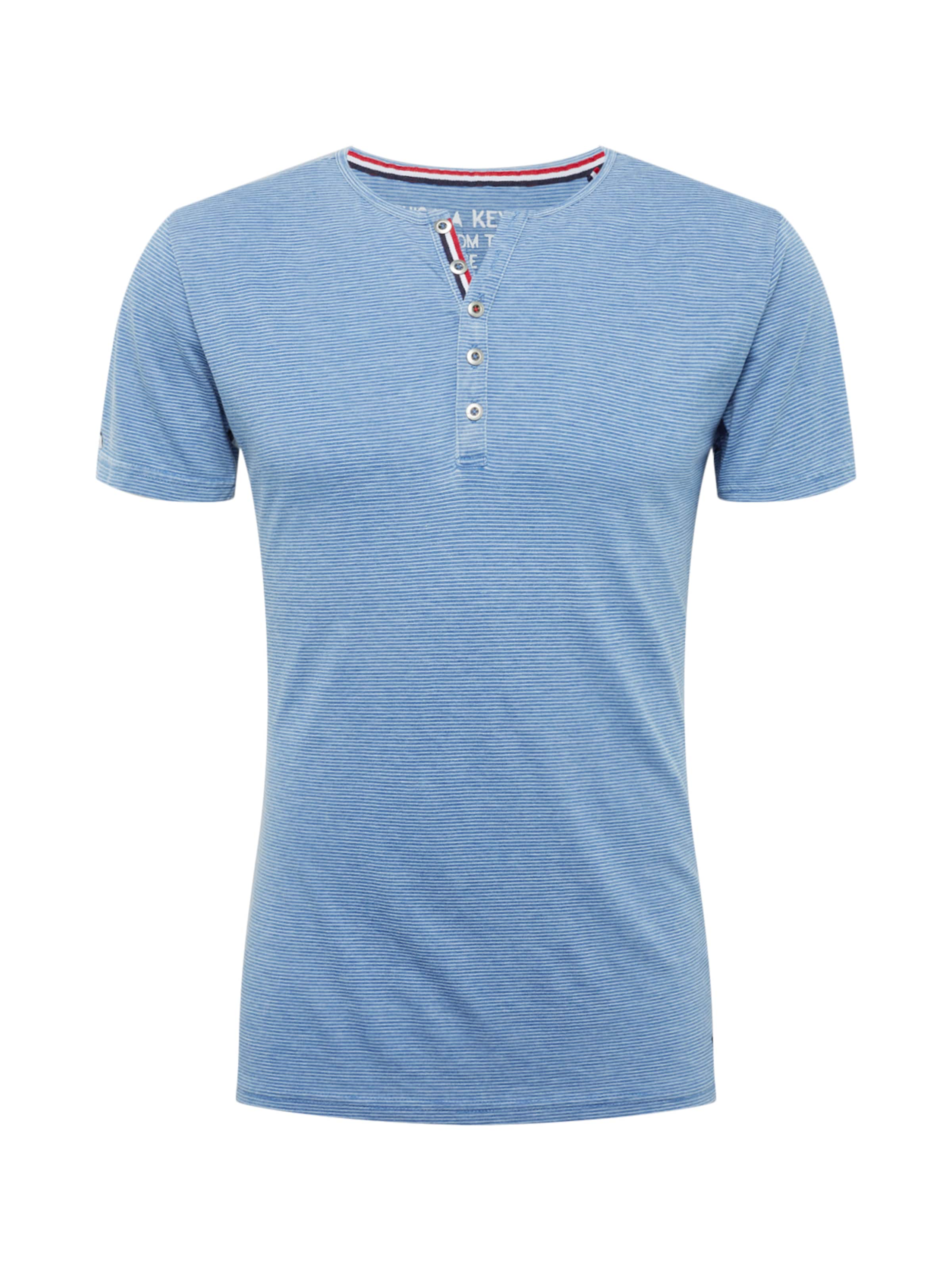 T 'mt shirt En Key Dieter' Largo FoncéBlanc Bleu hxCsrotQdB