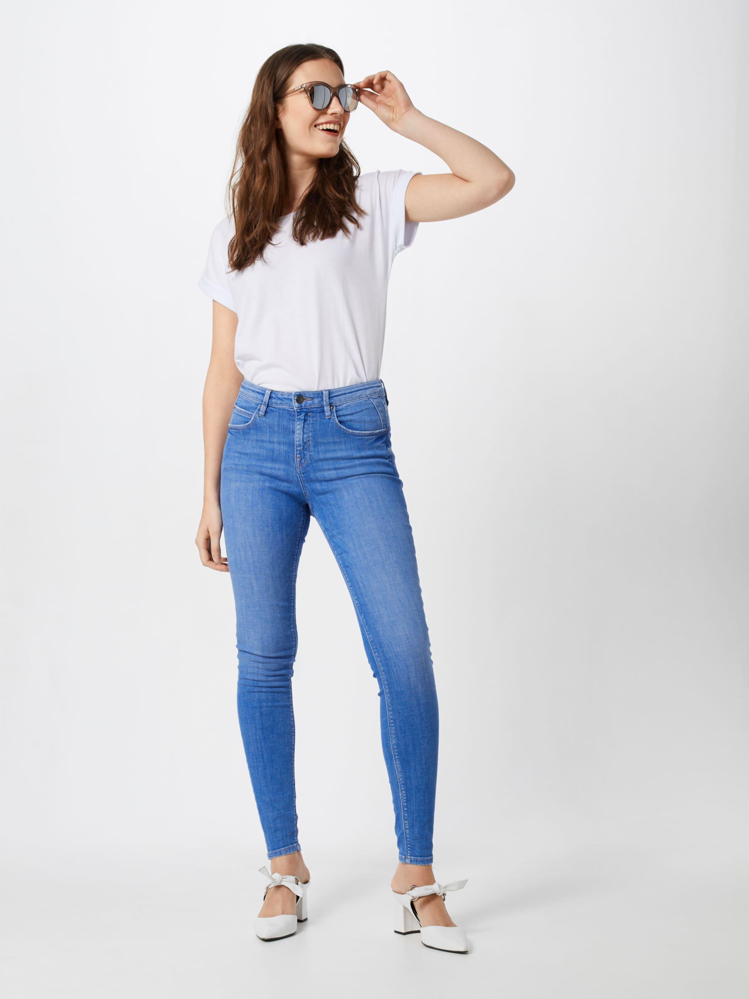 Bleu En Hr Denim Jean Skin Esprit 'osn Ocs Edc By Pants Denim' 8mvn0NwOy