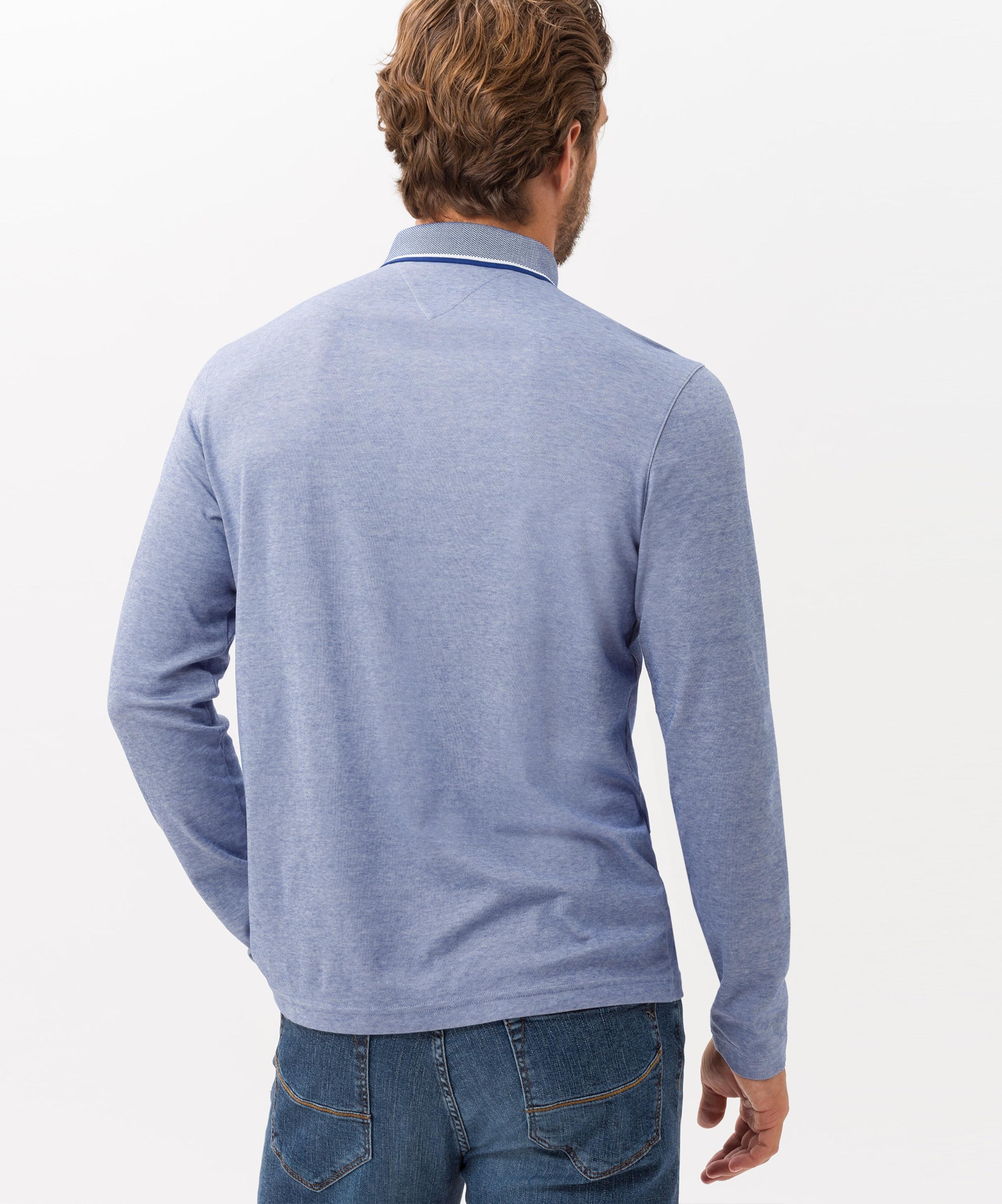 In Hellblau 'pharell' Poloshirt Brax 0wXnN8OPk