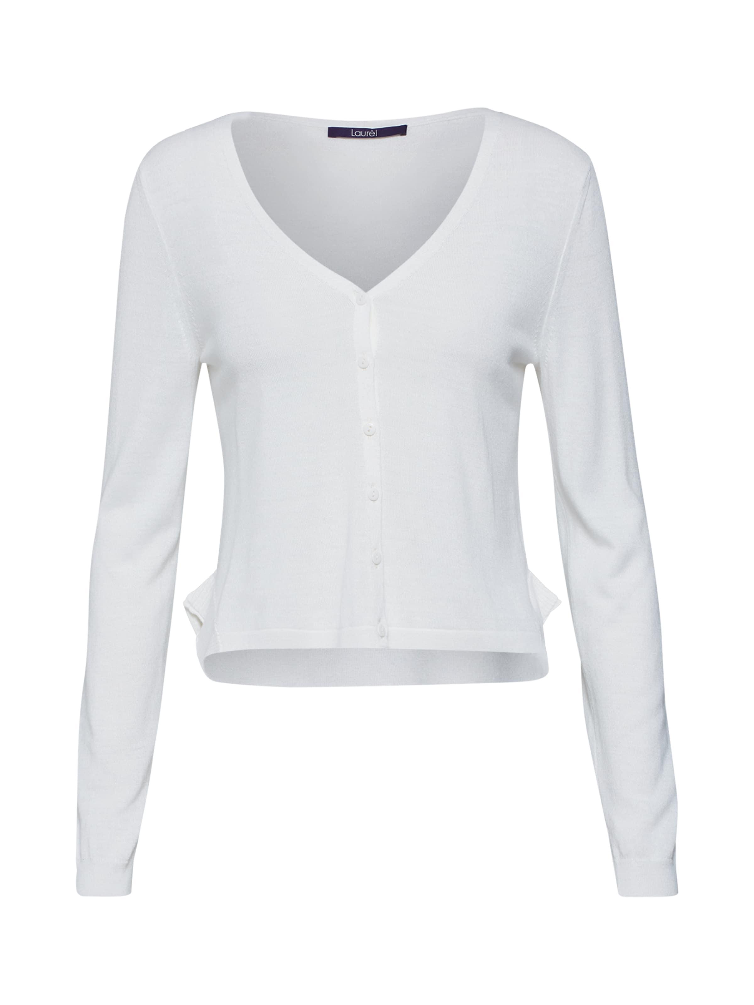 Laurel Laurel Laurel Cardigan Cardigan Blanc En En Blanc '21042' '21042' eH9YbED2IW