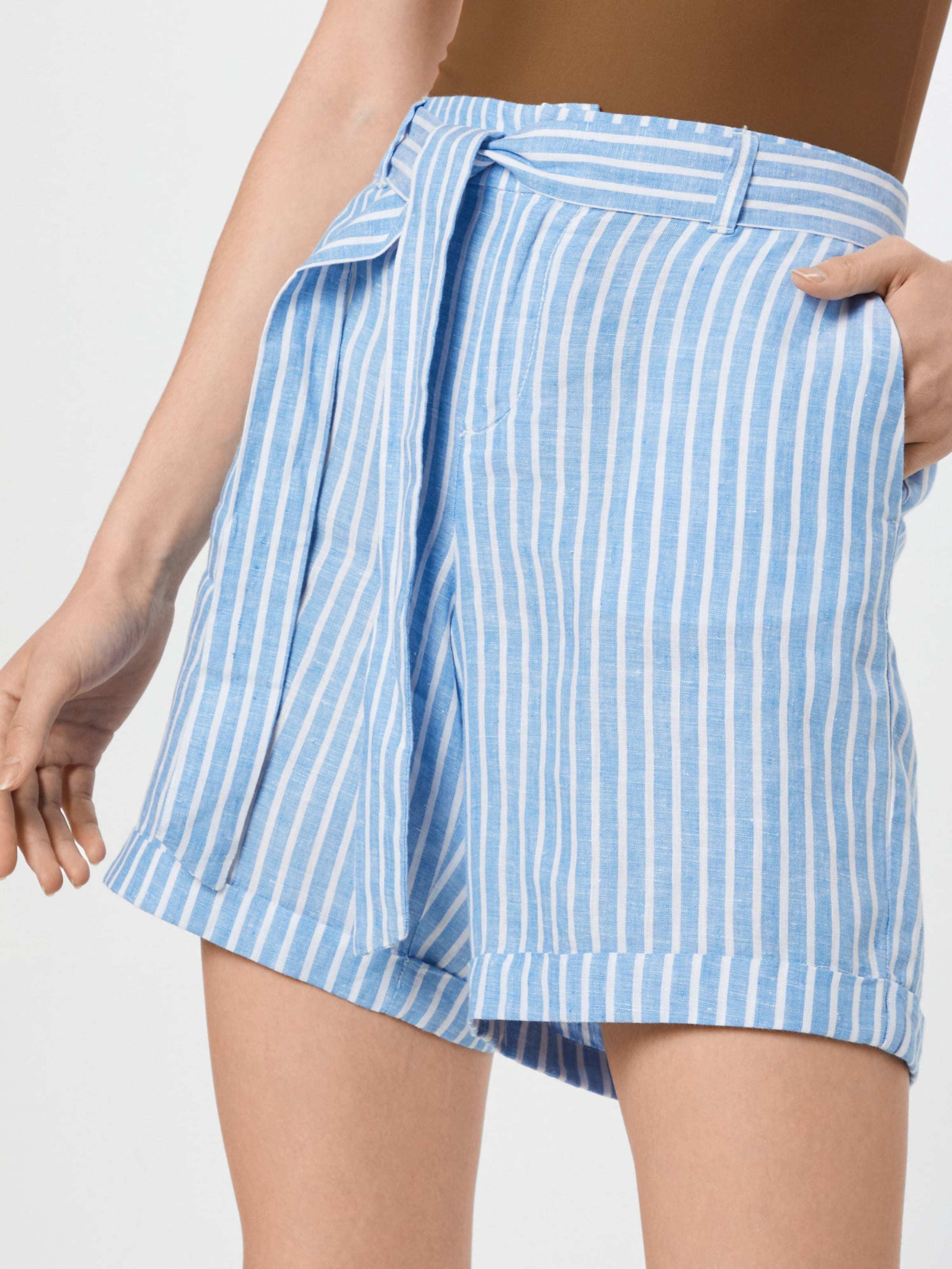 S Bleu ClairBlanc En Red Label oliver Pantalon 5j3RL4A
