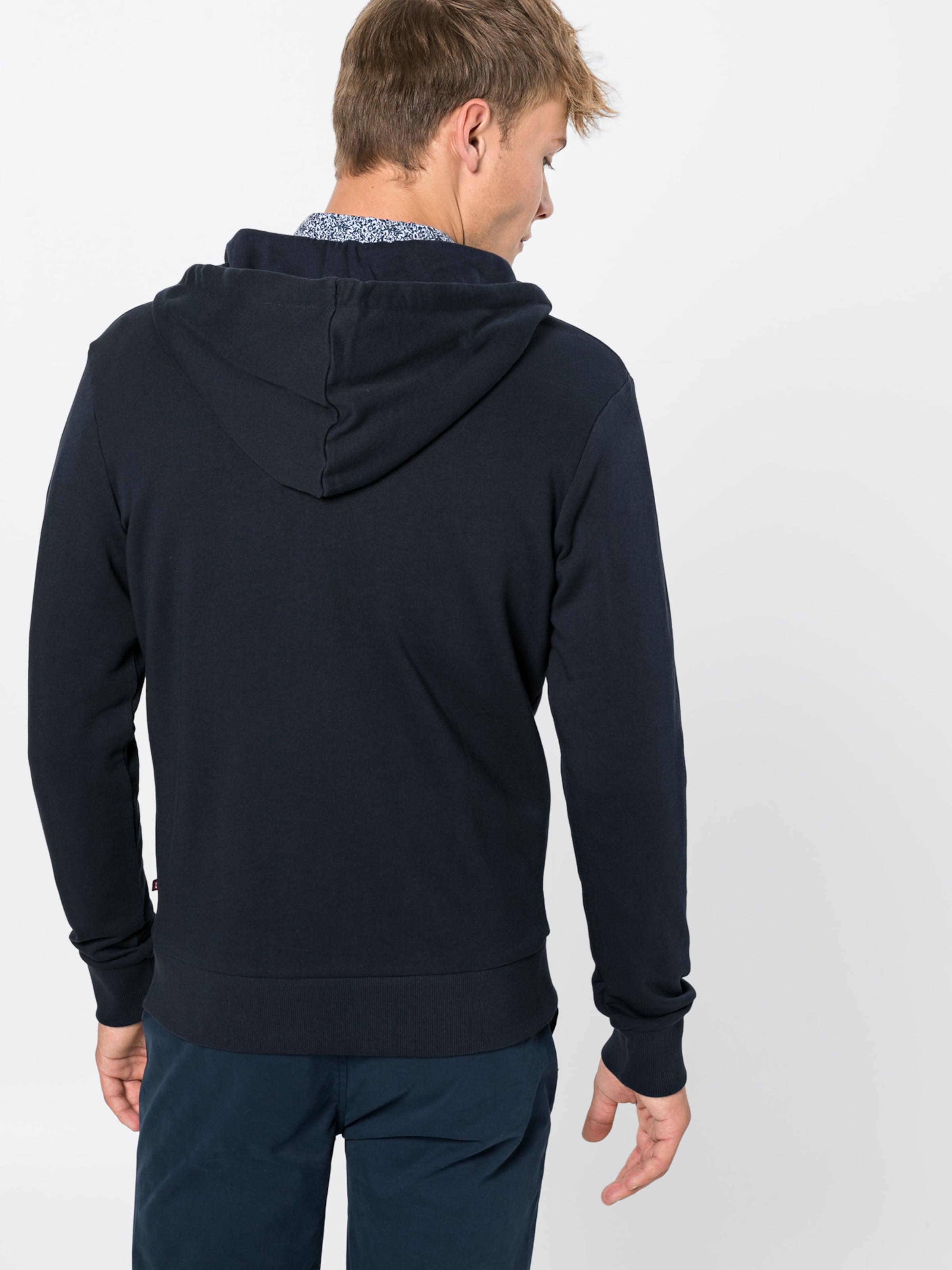 Marine Jackamp; En Jones 'jjeholmen Sweat Zip De Hood Survêtement Bleu Veste Noos' Y6ygIfbm7v