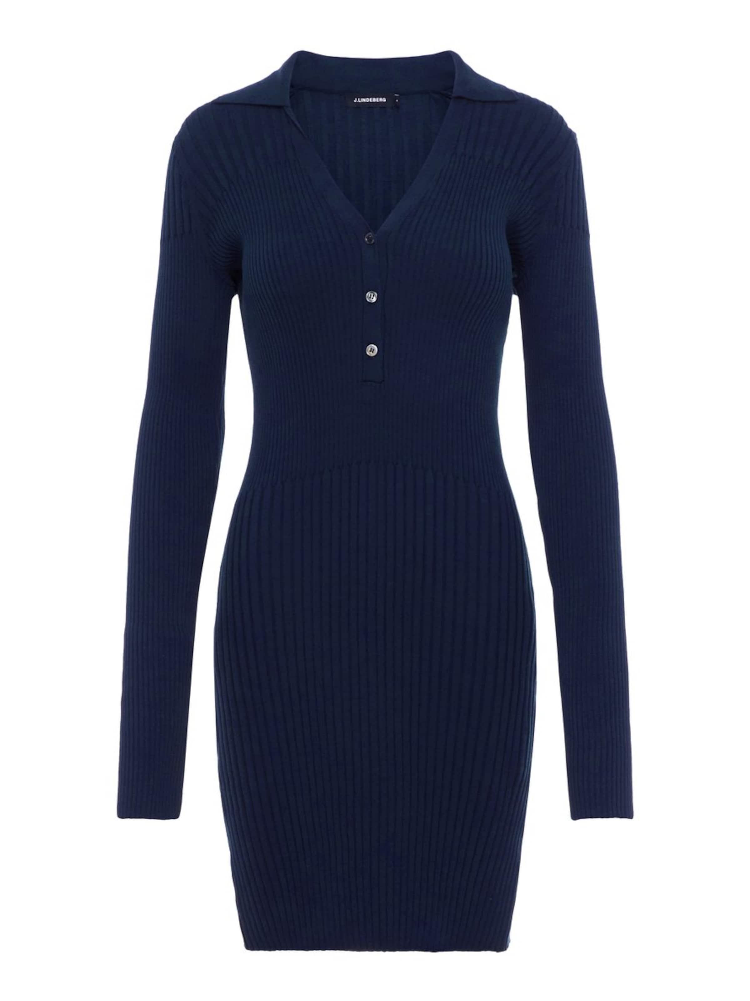 lindeberg Robes Bleu J En Maille 'blanche' dChrtsQ