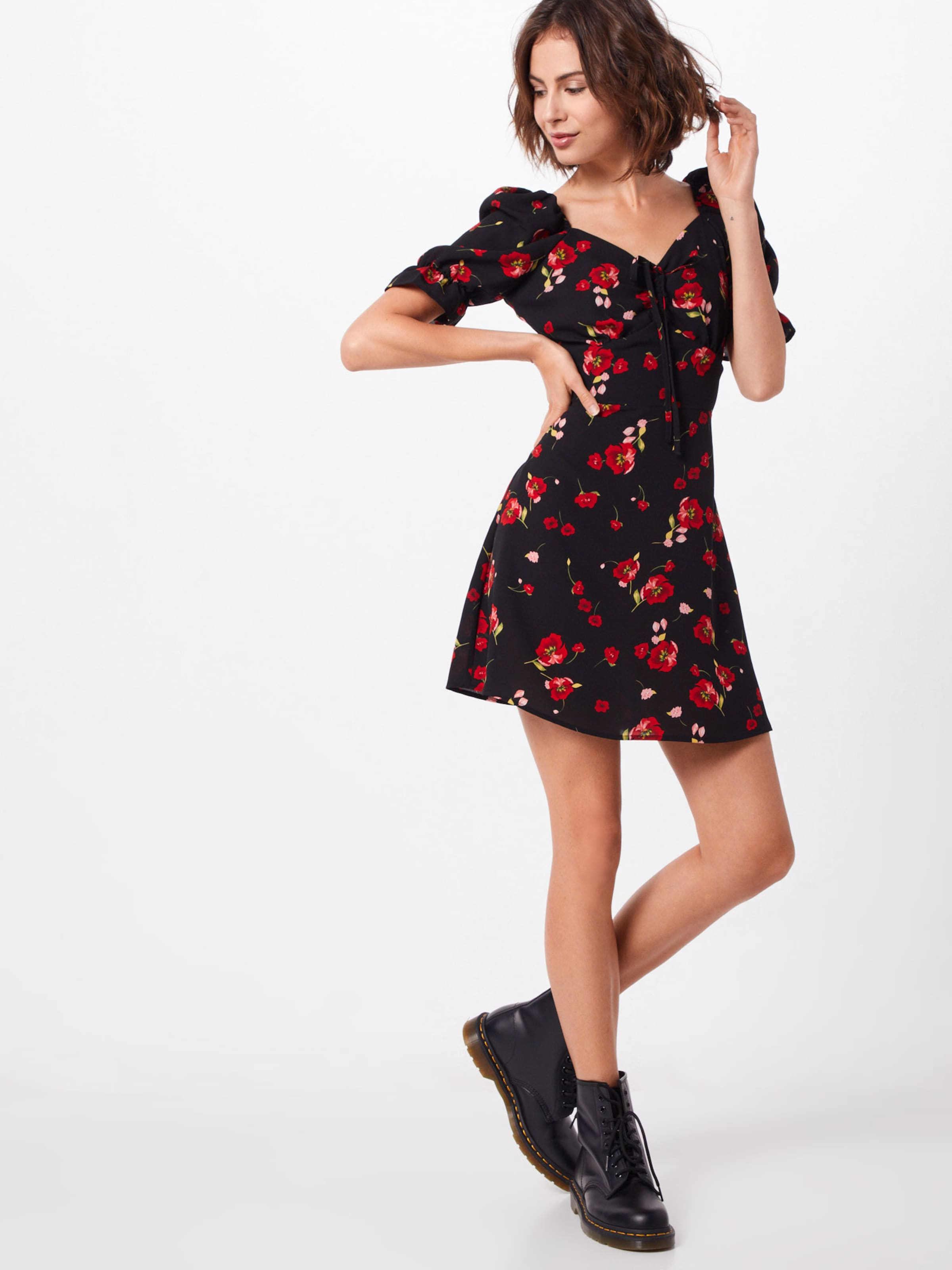 Missguided Robe En RougeNoir Robe Missguided 2E9HID
