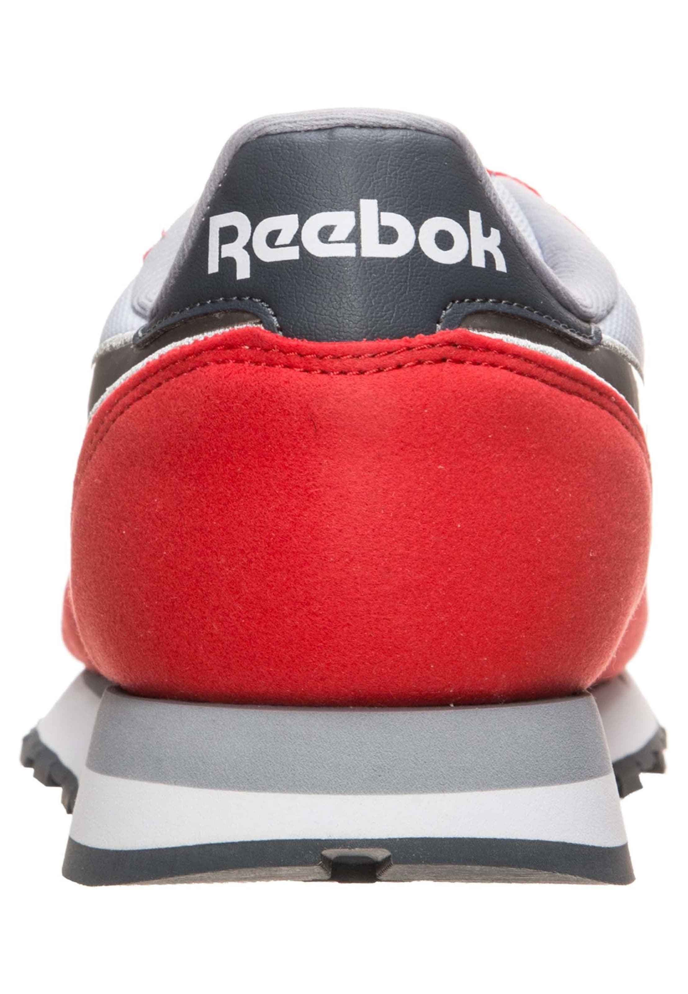 Reebok Classic GrisRouge Blanc Baskets En Basses N8nOPX0wk