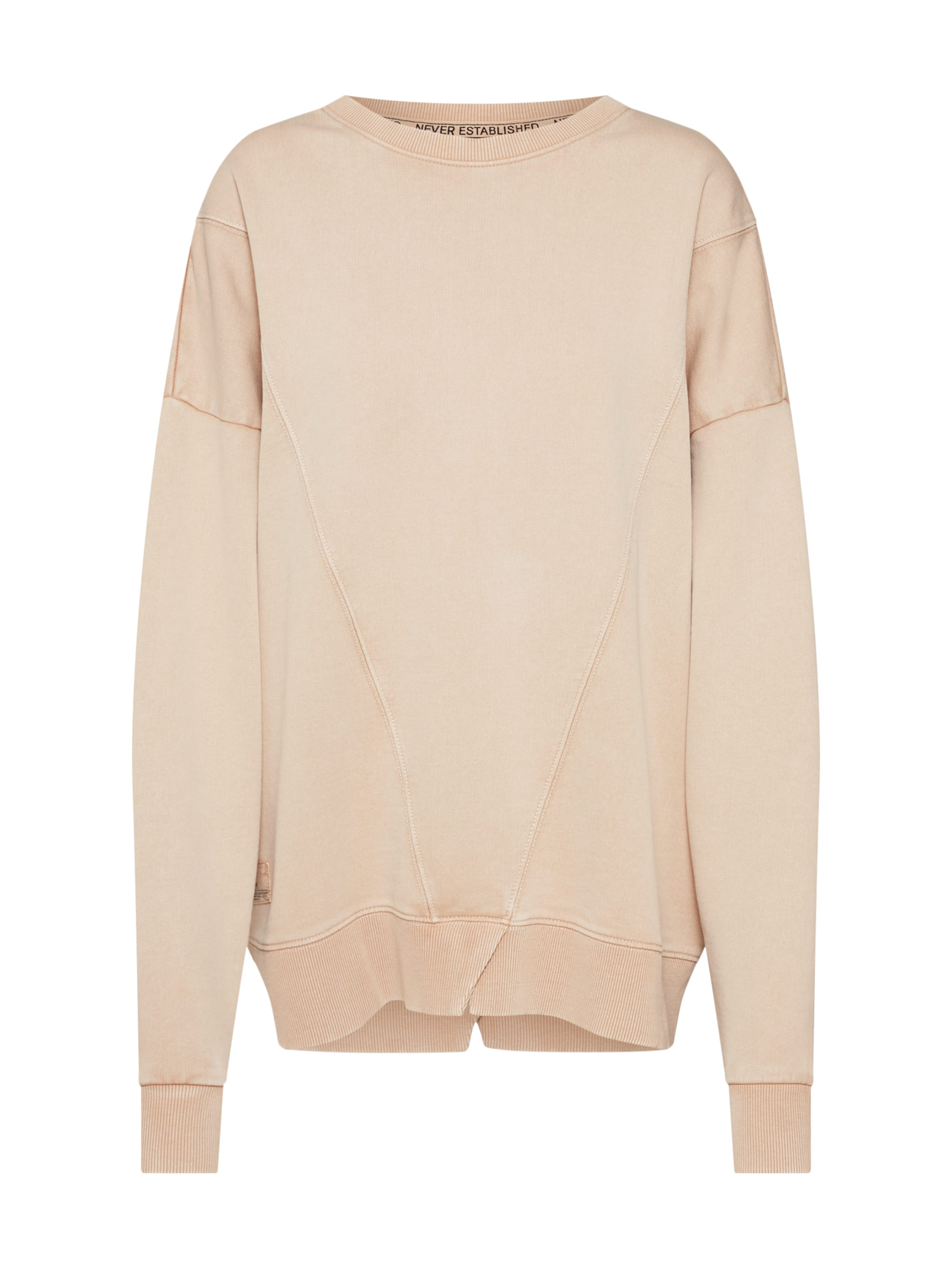 Review Sweat shirt En 'seam' Beige iukXOwPTZl