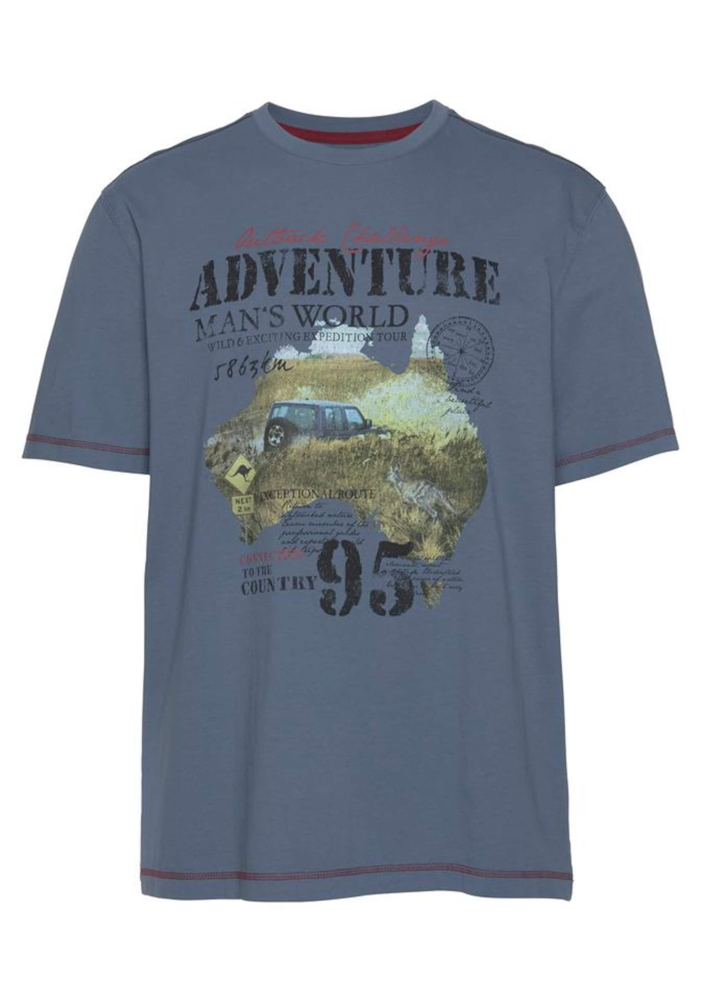 Man's shirt In World T TaubenblauMischfarben 29DHIE