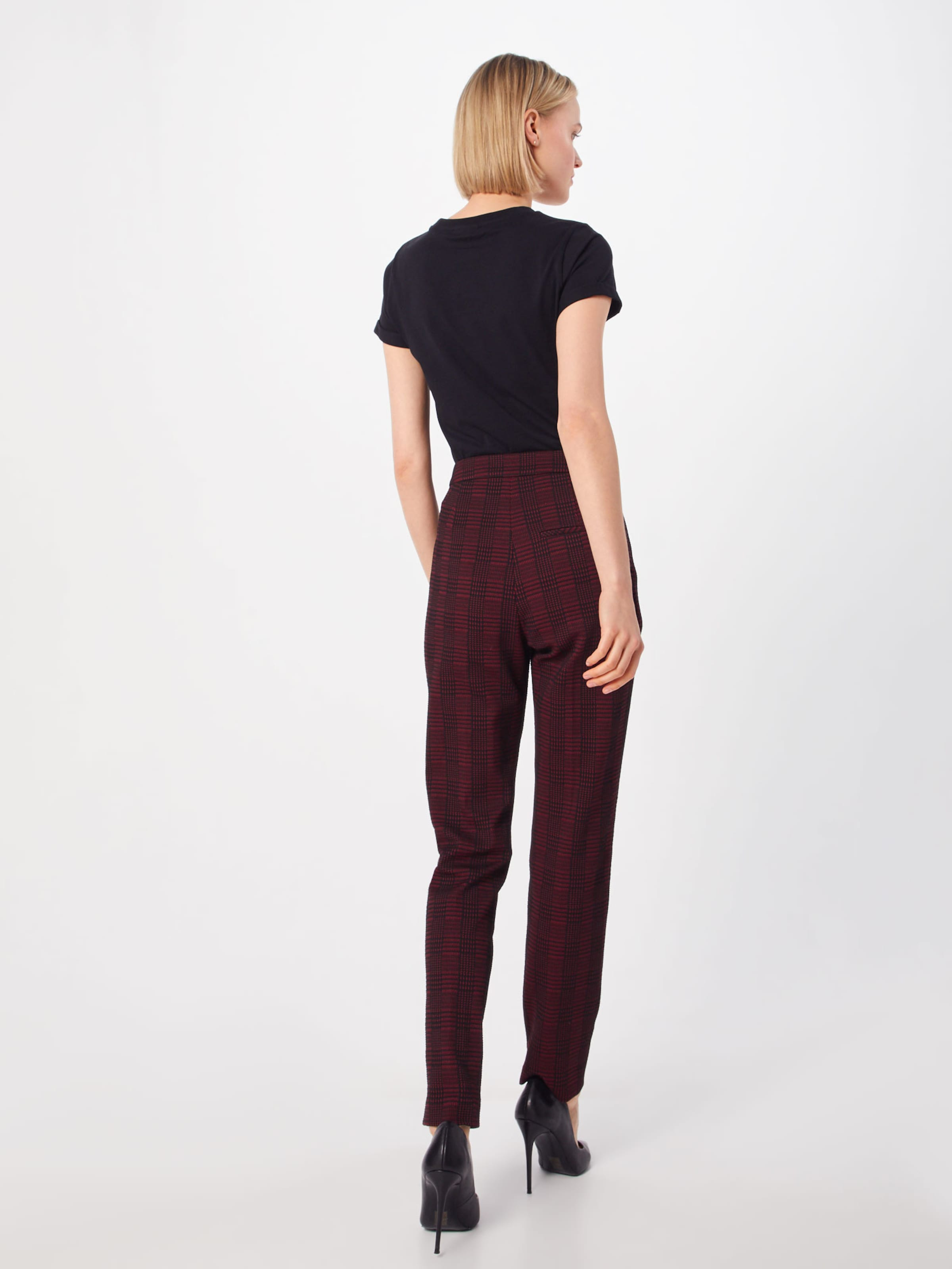 'hanette' Pantalon RougeNoir Hugo En PiukXZO