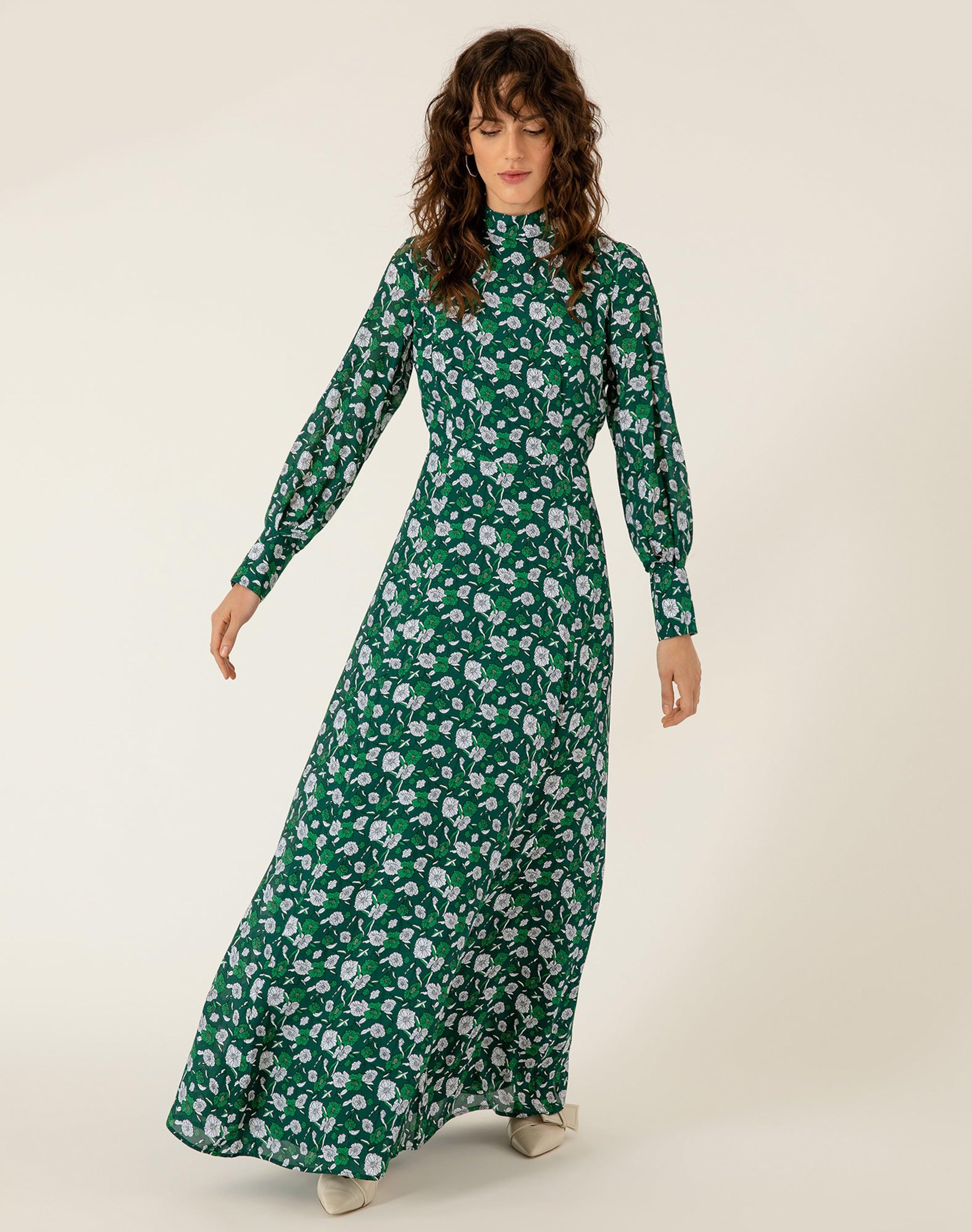 Oak Ivyamp; Couleurs VertMélange Robe En De E2DHY9WI