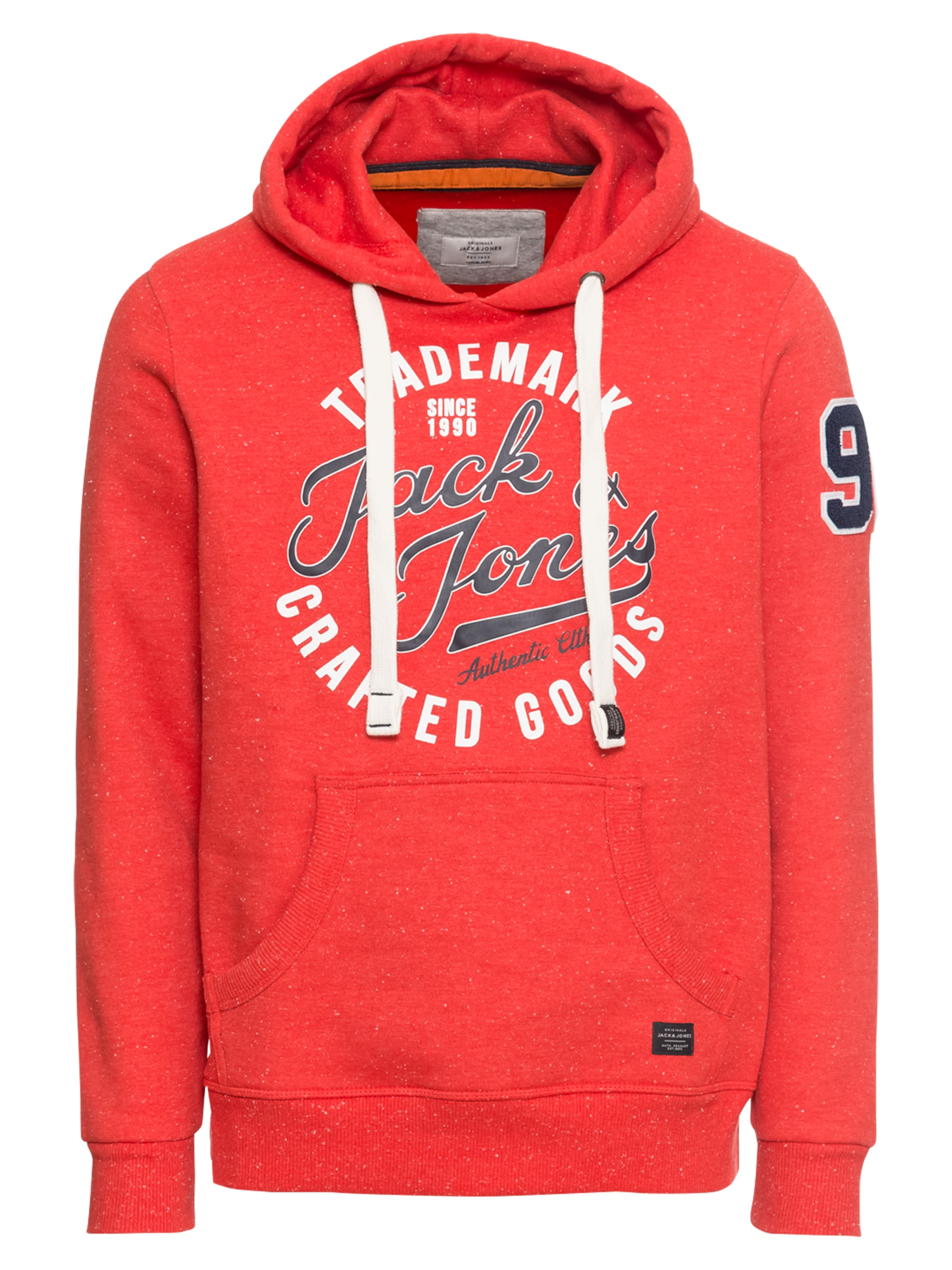 Jackamp; shirt FoncéRouge Sweat 'jorchamps' Blanc Bleu Jones En TkZOPXiu